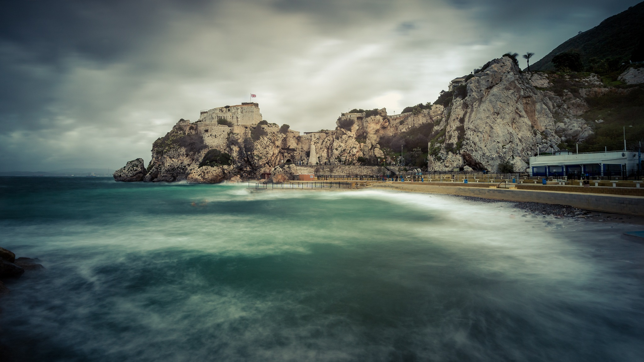 Stormy Bay by gibwheels