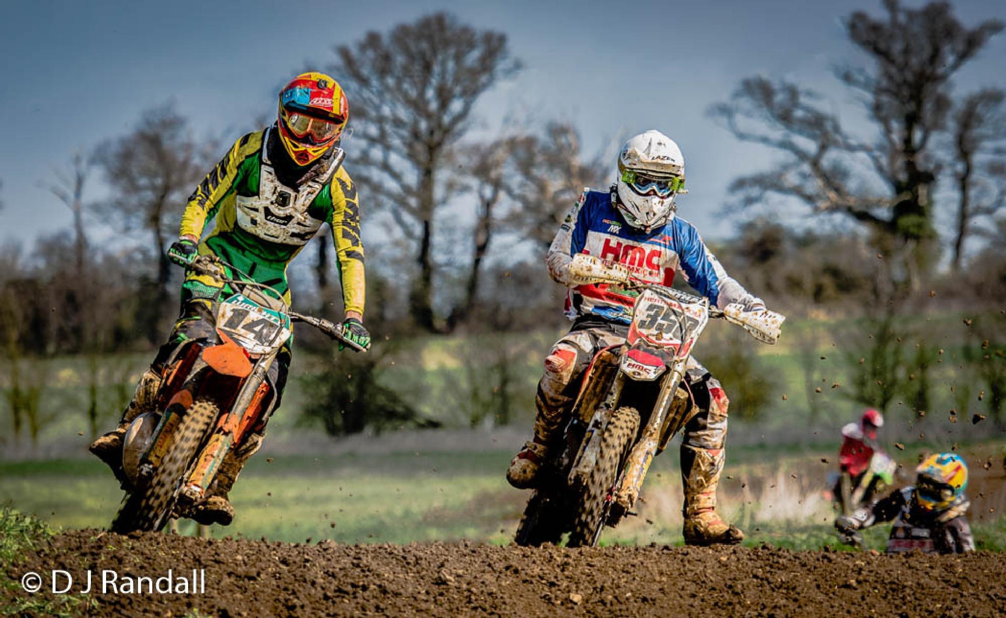 Motocrossers at Toddington Bedfordshire by Albatroff