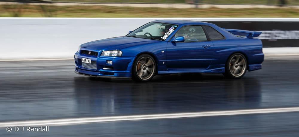Deep blue Skyline GT-R by Albatroff