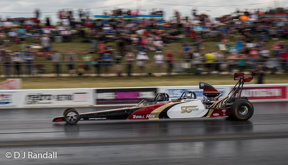 Santa Pod's 'Pay To Ride' dragster by Albatroff