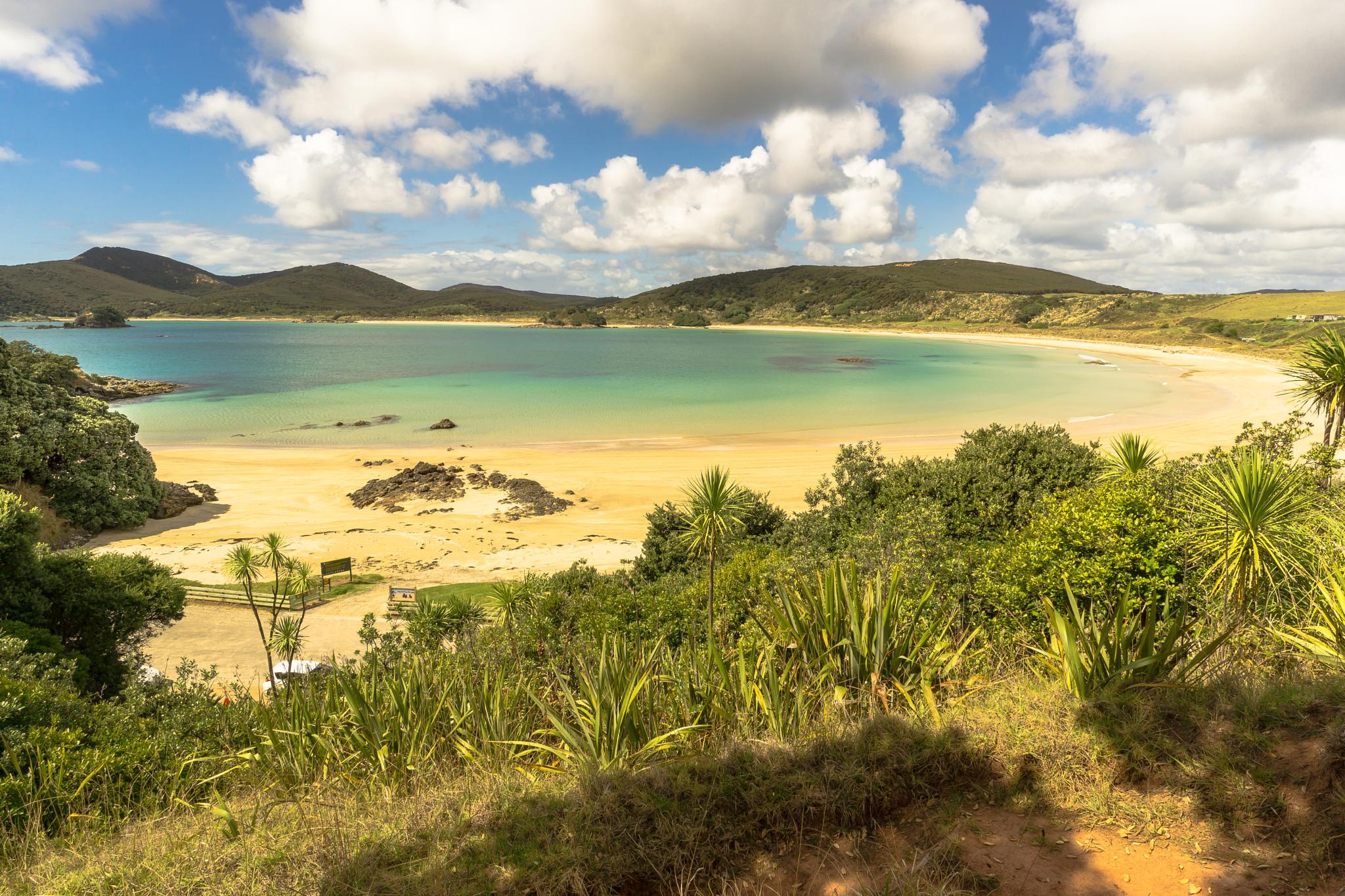 Photo in Sea and Sand #new-zealand #coast #bay