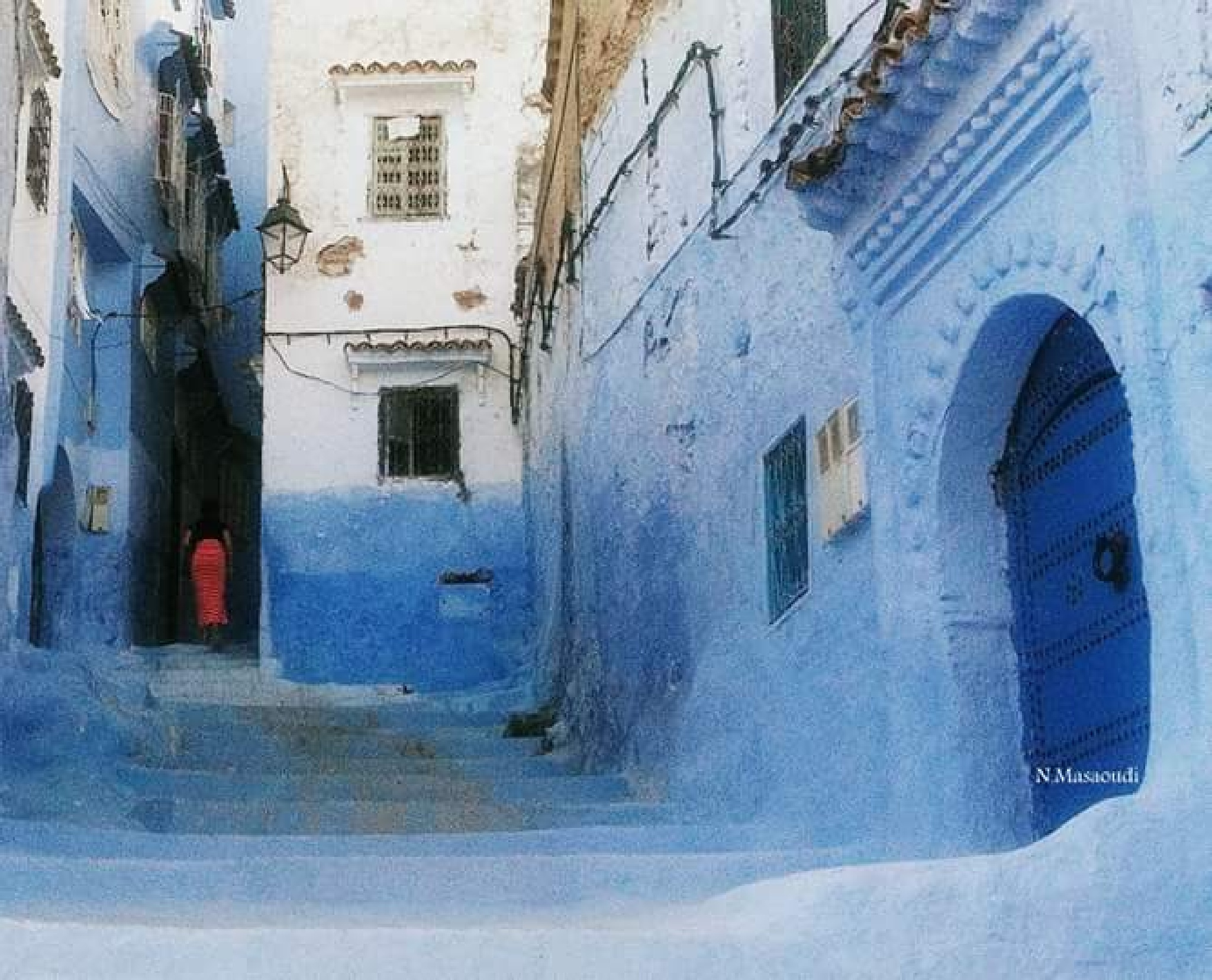 Blue art _ Chefchaouen. Morocco by Nor.dean photography