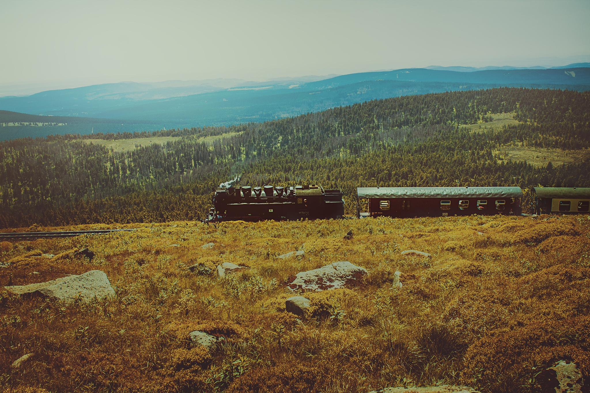 Movement on Brocken Germany by Cliff Warthold