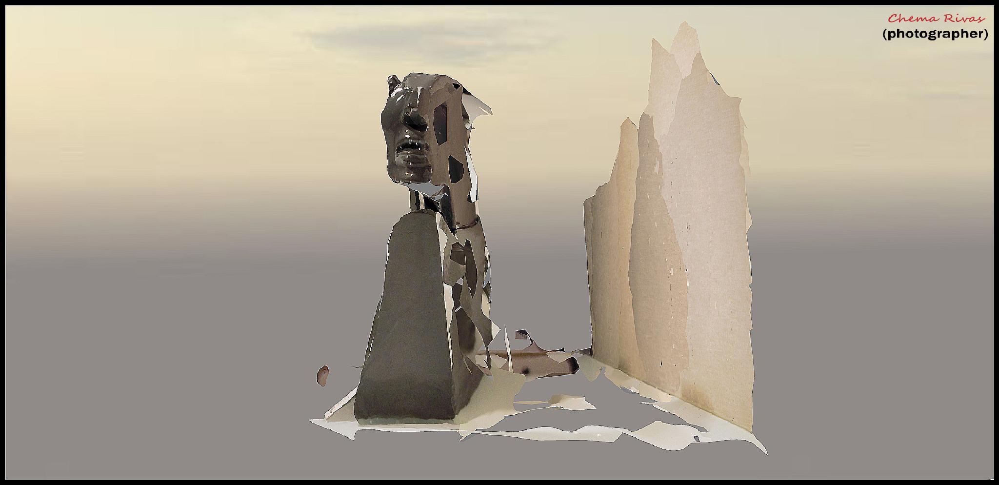 Estatua Escayola 1 by Chema Rivas
