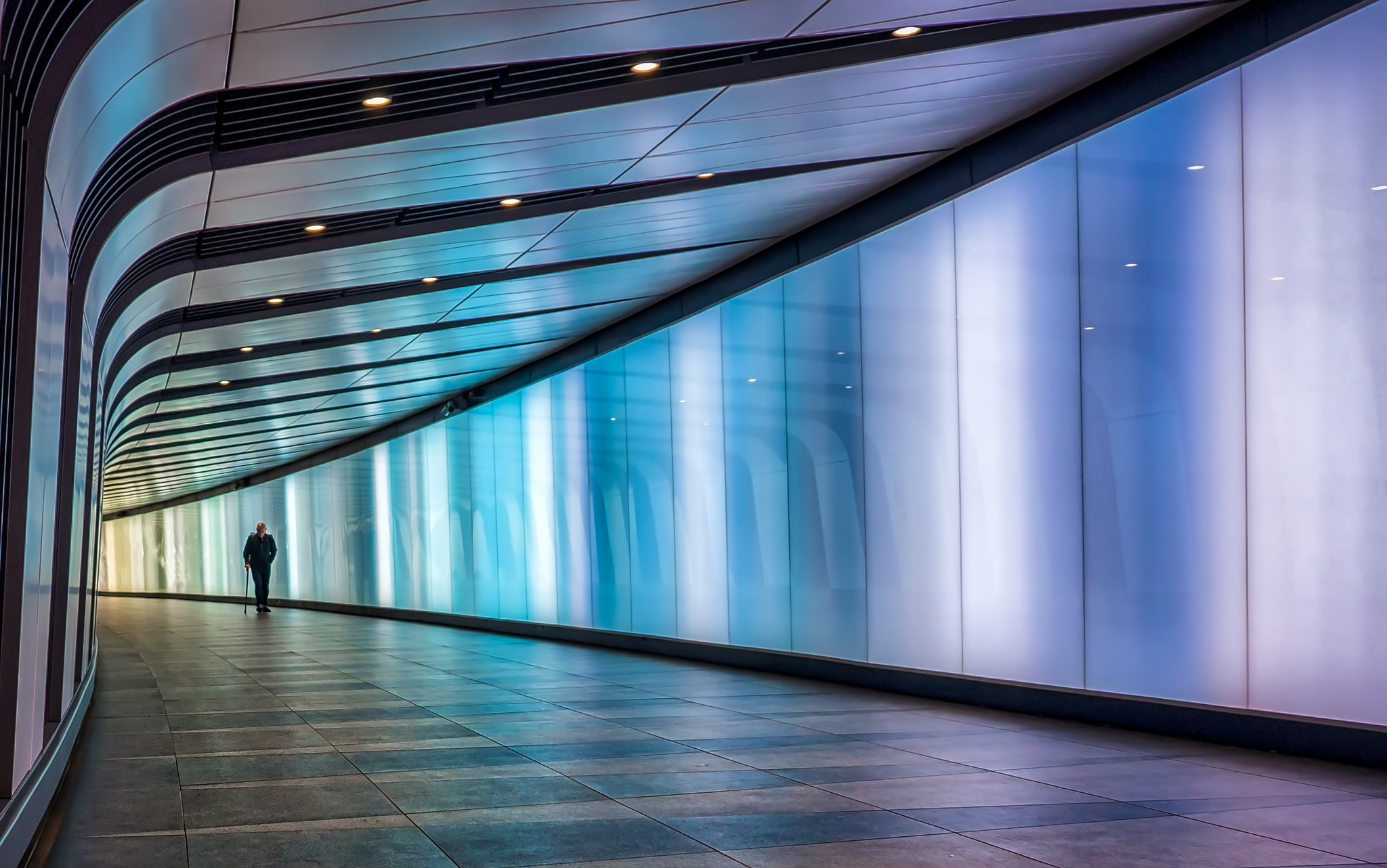 The Coloured Tunnel by jan.murphy30