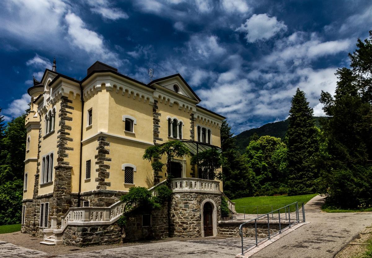 Photo in Travel #villa #levico #terme