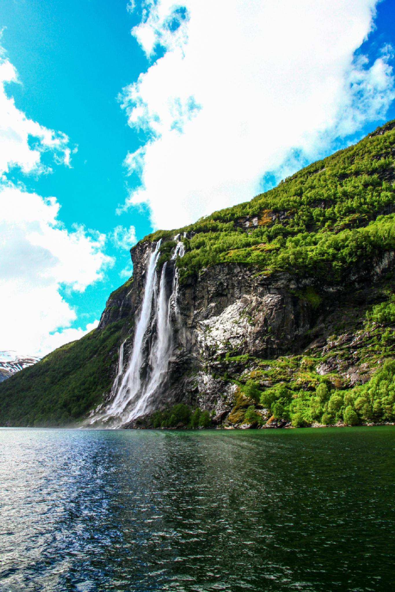 Photo in Landscape #geiranger fjord #geiranger #fjord