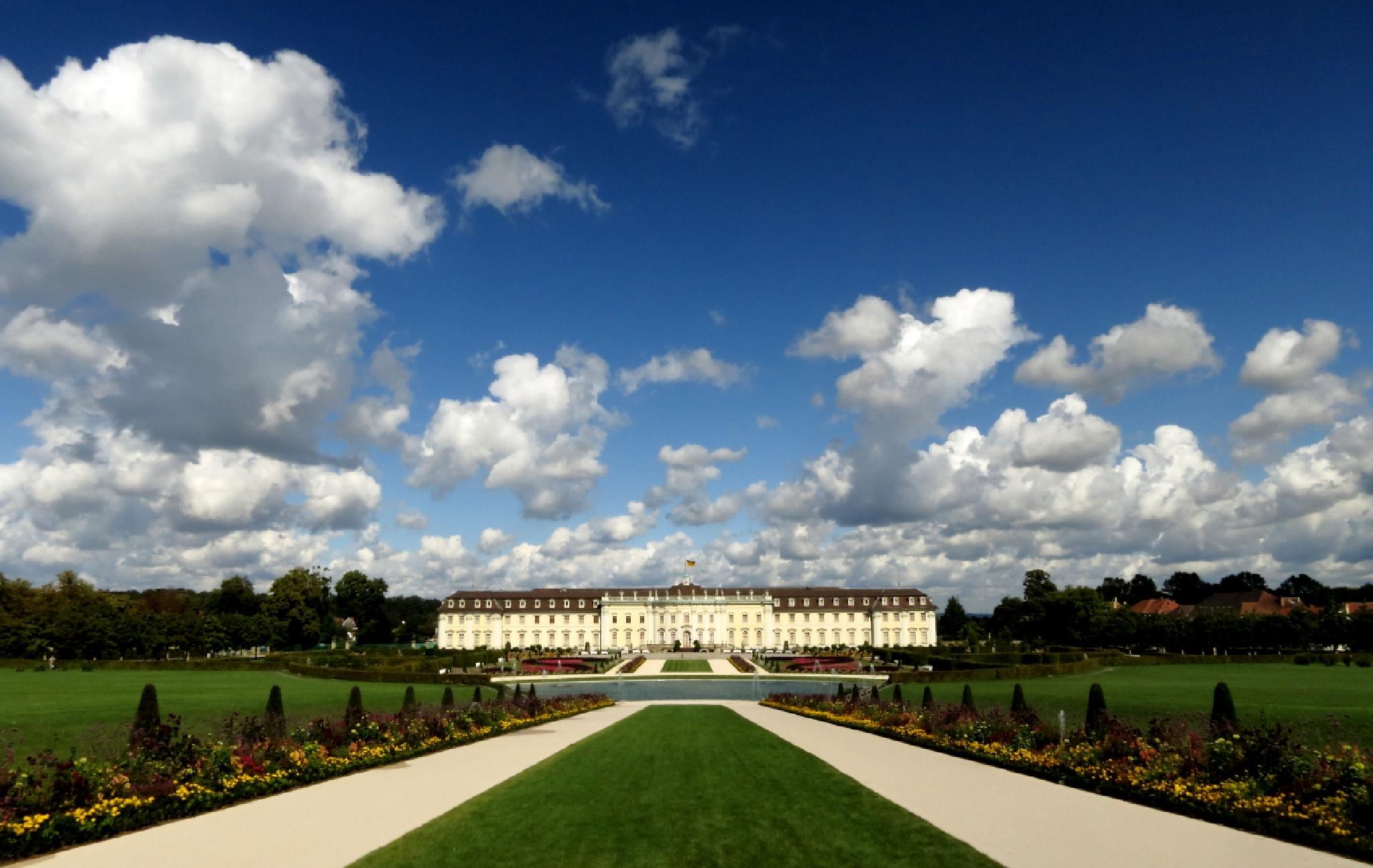 Castle Ludwigsburg by FSFoto