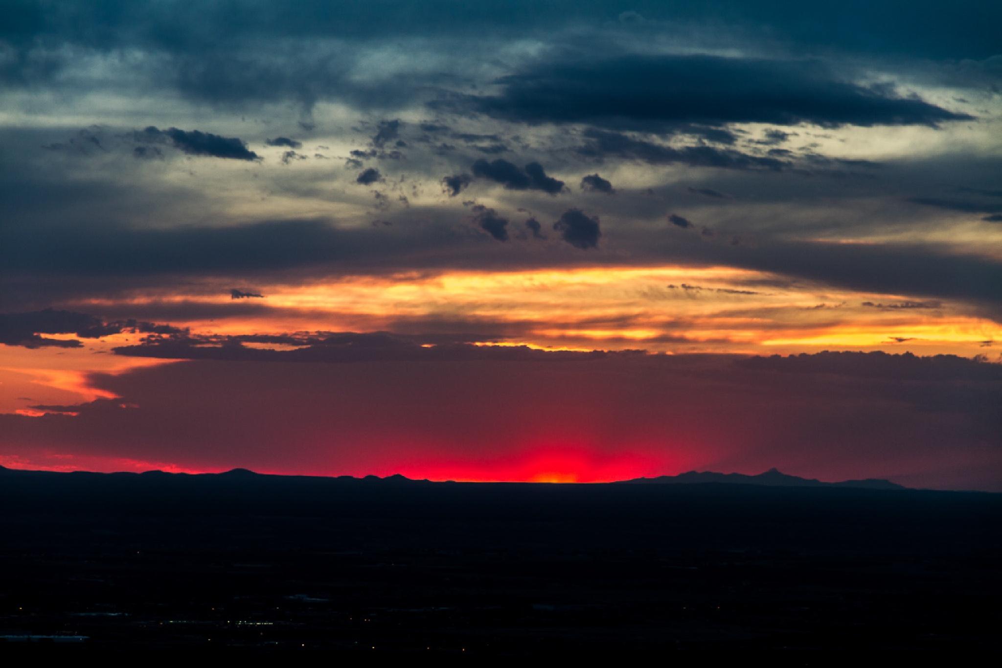 Burning Sky by FSFoto