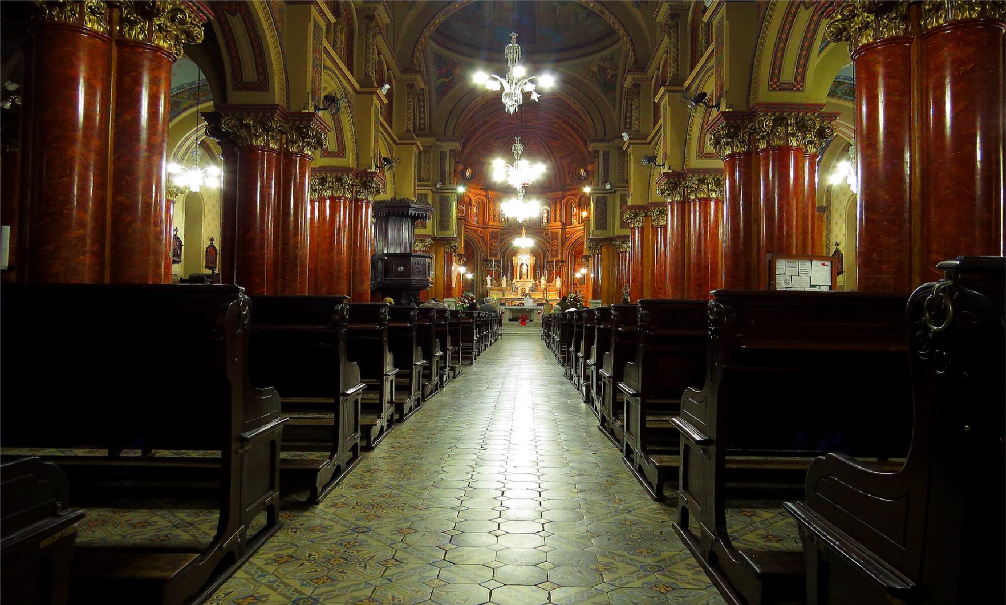 Santa Cecília Church/ São Paulo/ Brasil by LuixCelso