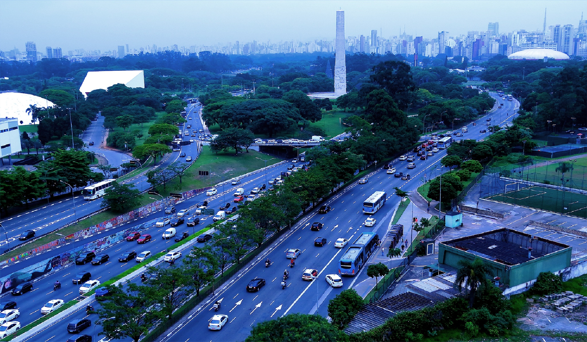 Obelisco/ Ibirapuera/ São Paullo/ Brasil by LuixCelso