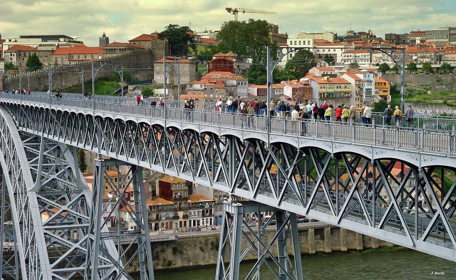 Photo in People #people #bridge #city