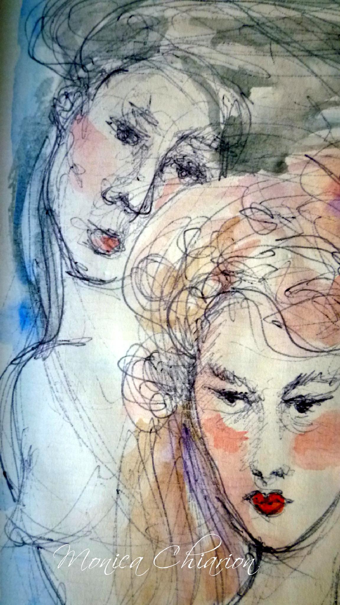 Volti by Monica Chiarion