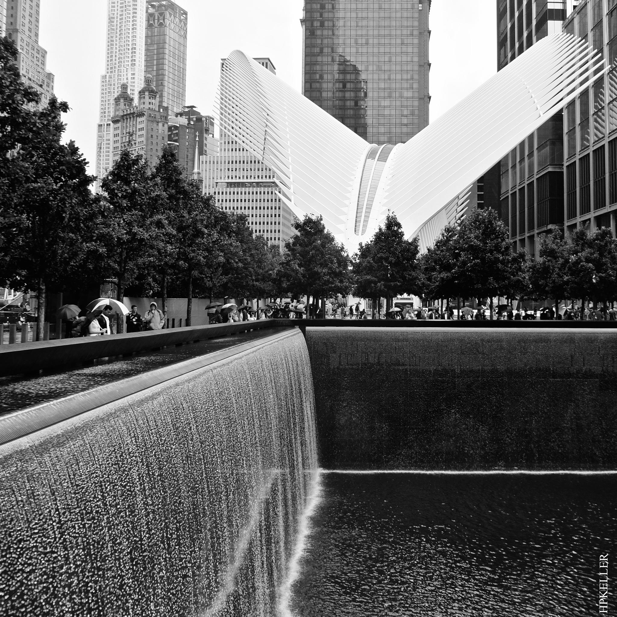 Some weeks ago in NYC, ...at 9/11 Memorial. by Hans-Peter Keller
