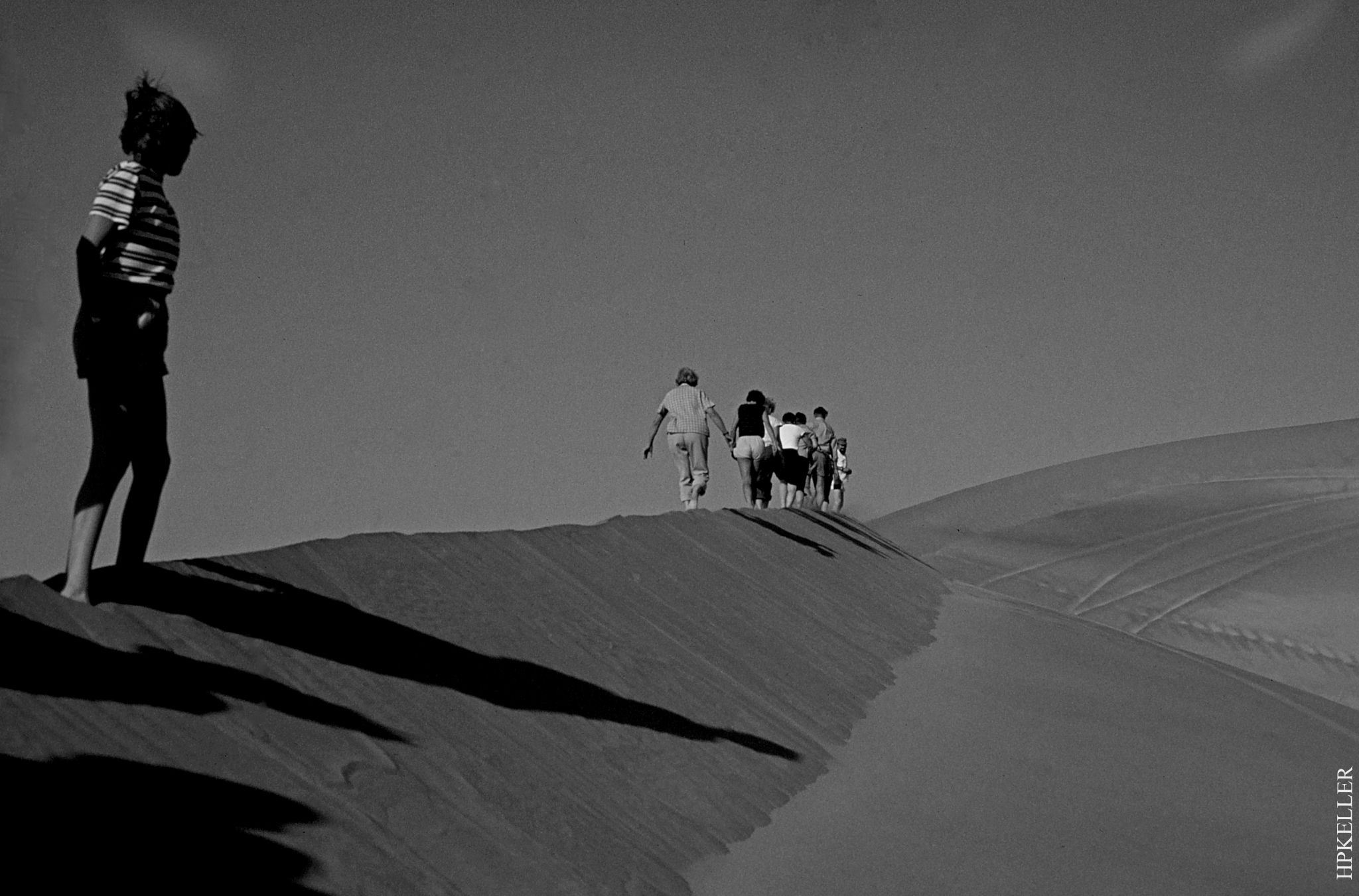 Some years ago, ...in Maspalomas (Gran Canaria) 1979 - Analogscan by Hans-Peter Keller