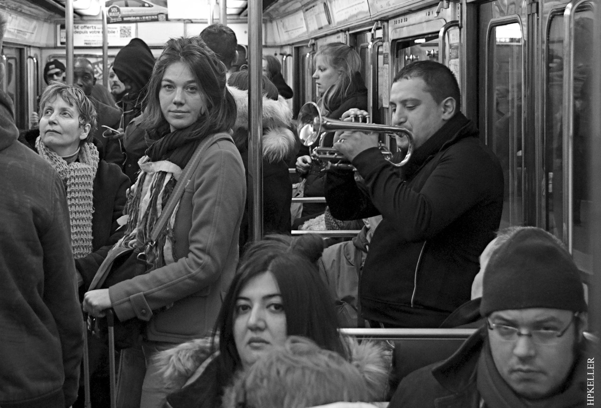 Spring in Paris, ...musical journey by metro. by Hans-Peter Keller
