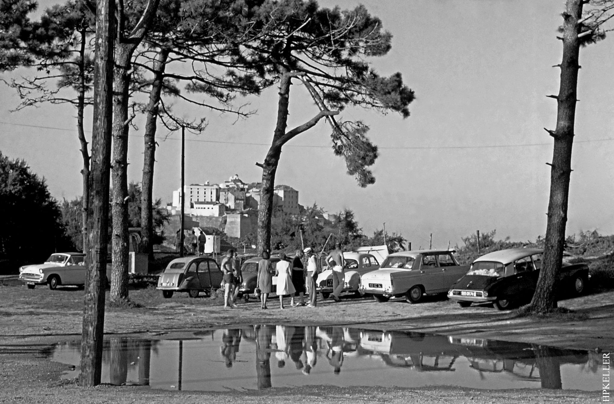 Many years ago at the French Riviera, ...near Saint-Tropez_Analogscan. by Hans-Peter Keller