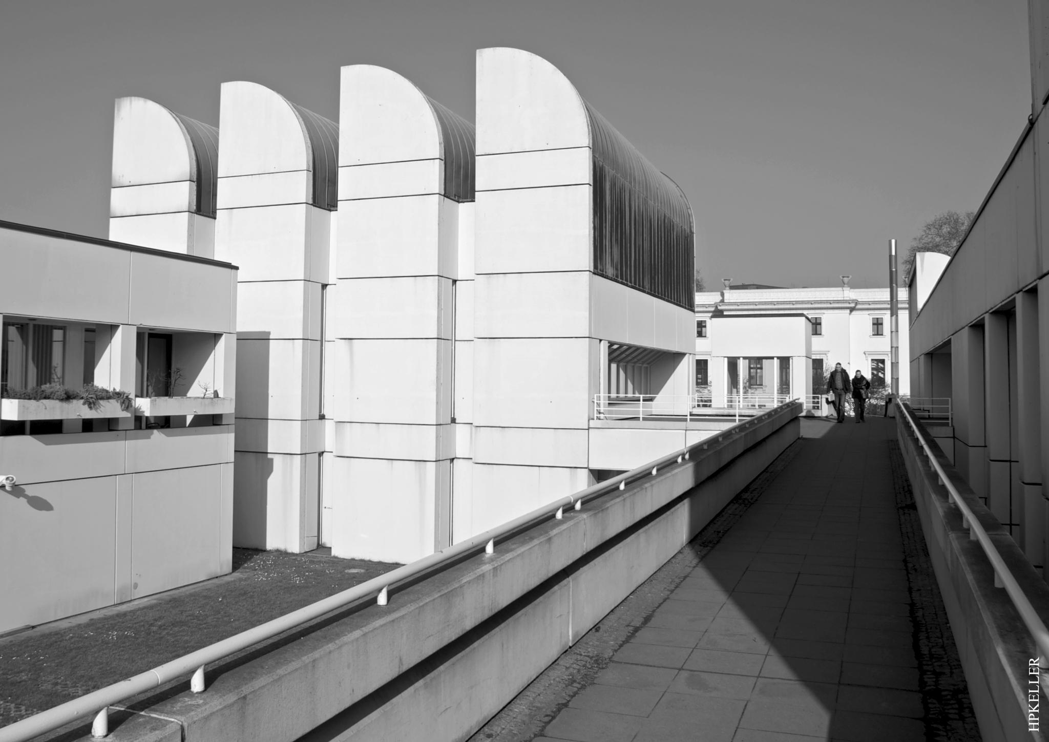 Some month ago in Berlin, ...Bauhaus Archiv Museum. by Hans-Peter Keller