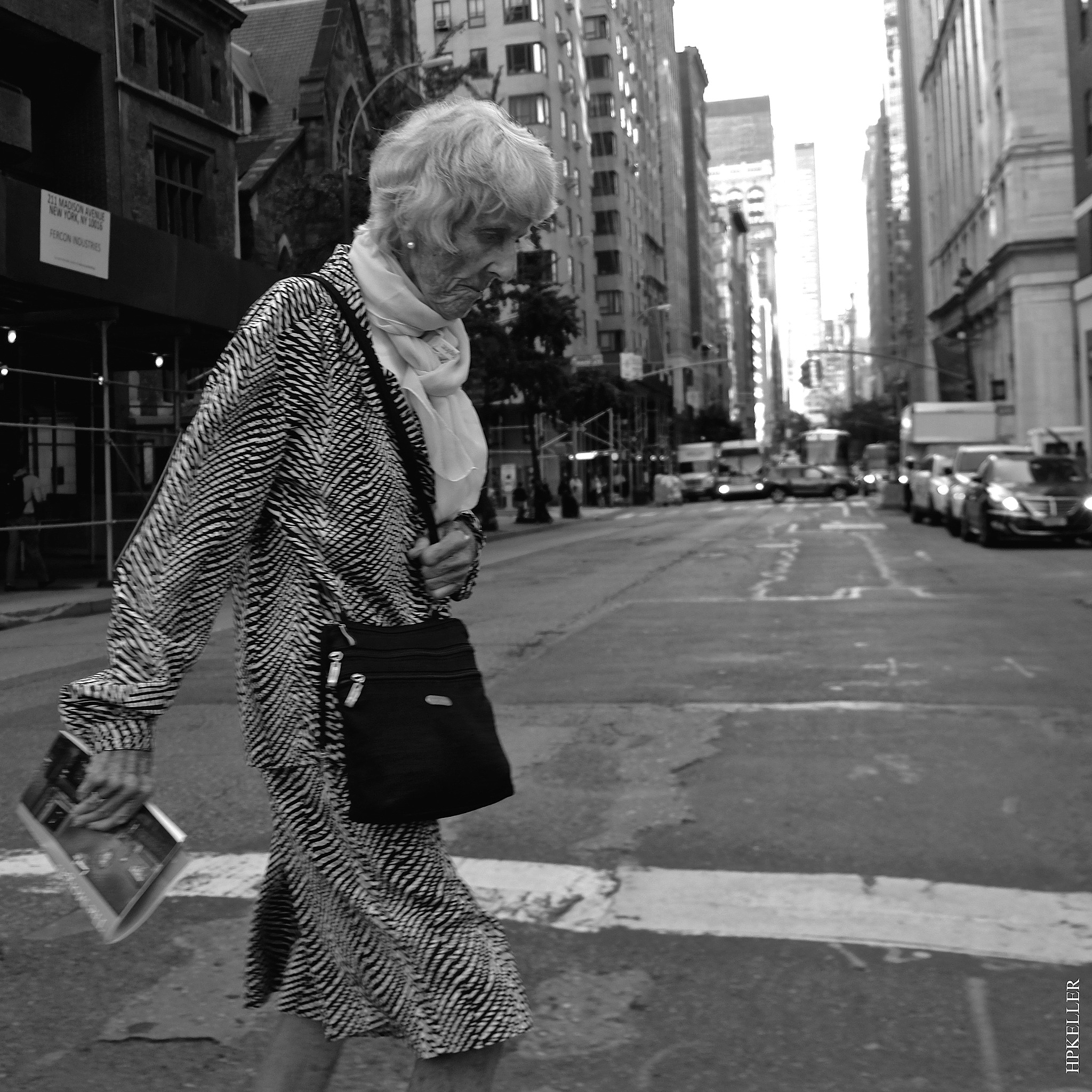 Some days ago in NYC, ...thoughtful encounters. by Hans-Peter Keller