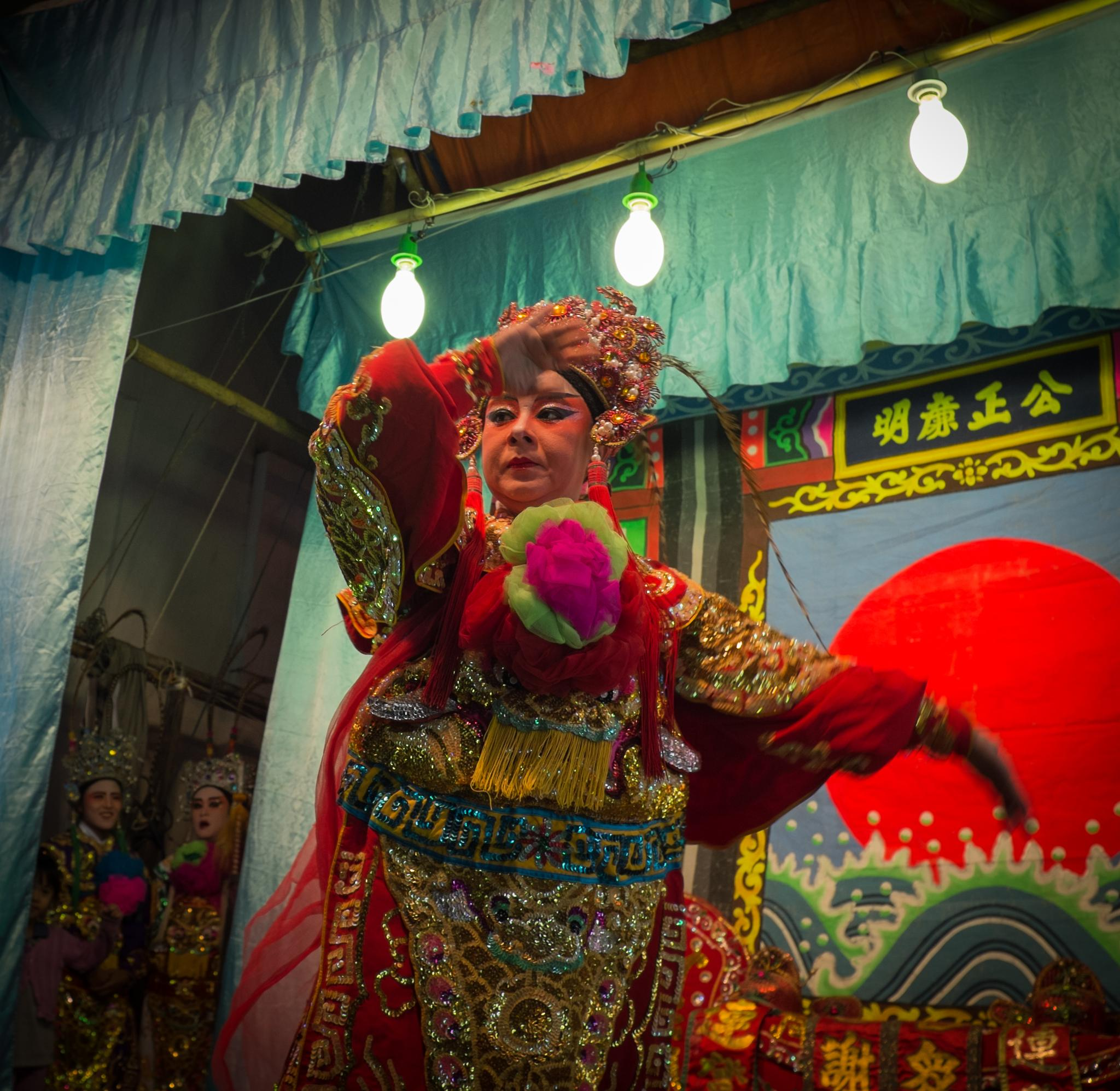 Chinese opera by praphab