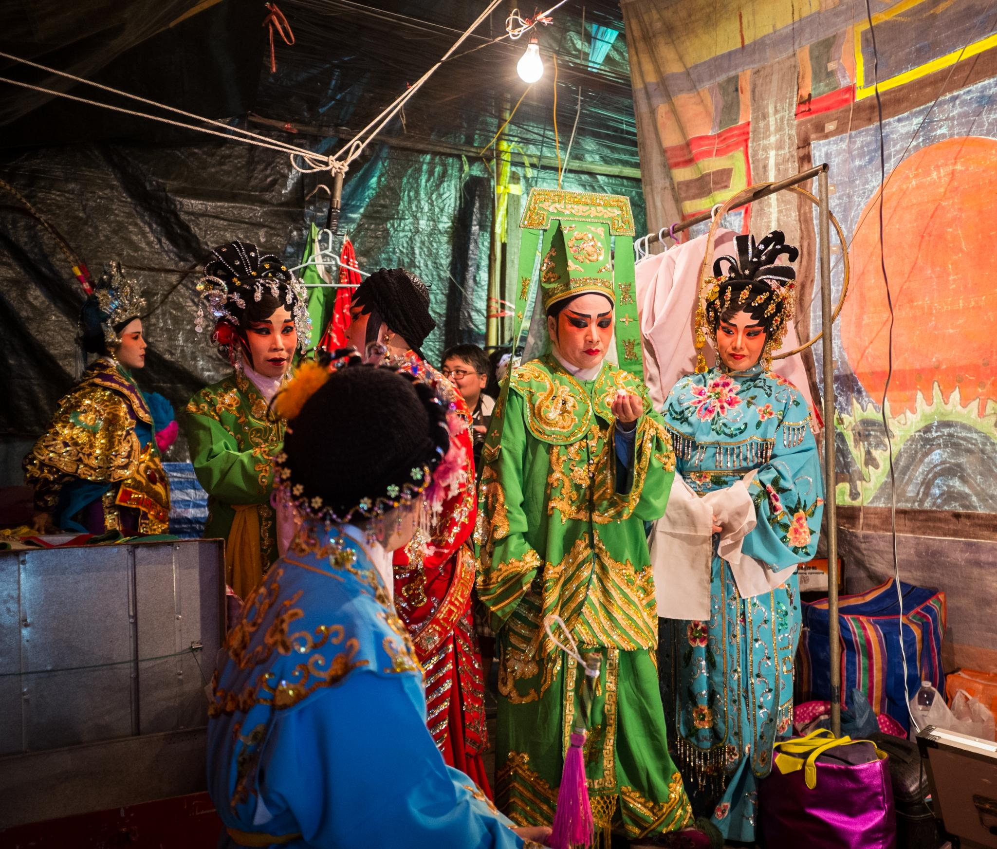 Chinese opera by praphab
