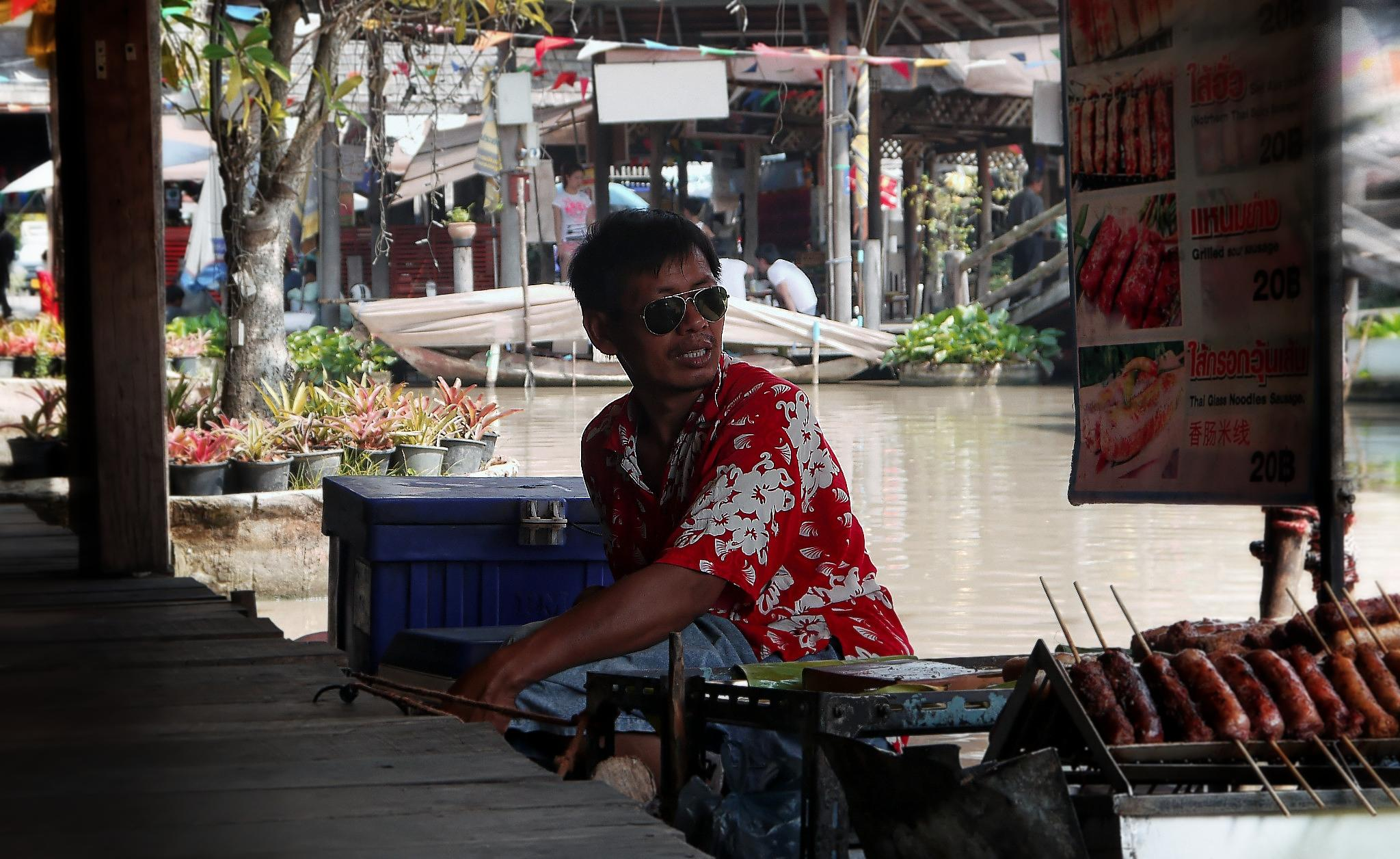 Photo in Street Photography #thailand #market #person