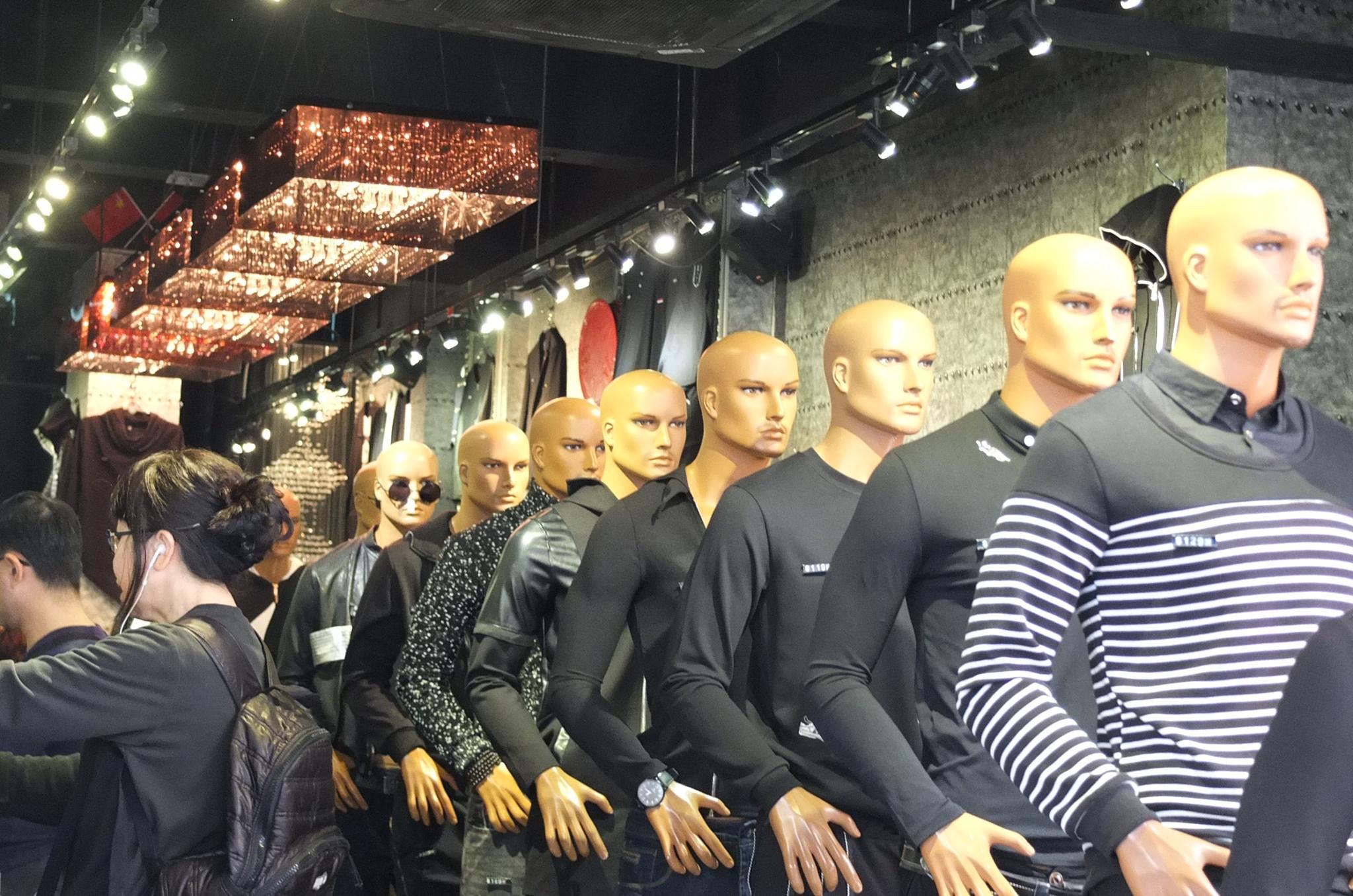 Men's shop ? by Ming Leung