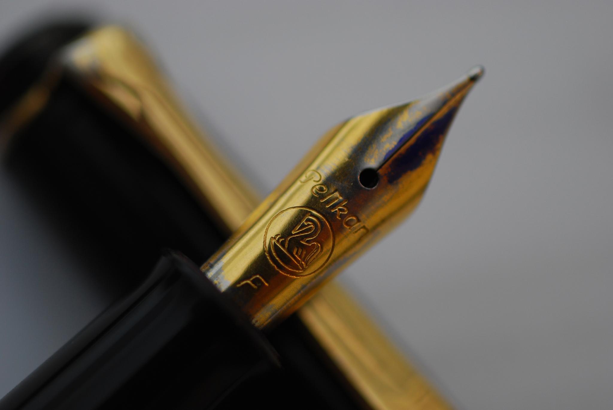 My faithful fountain pen... by Meir Jacob