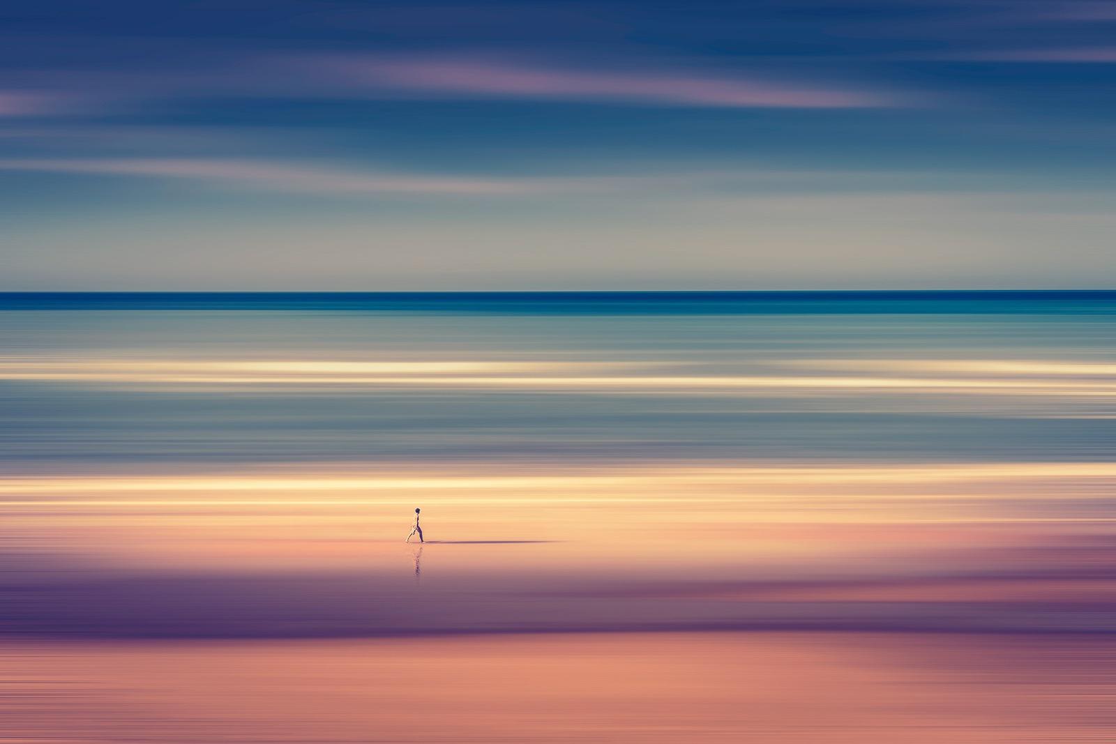 The beach by Rosana