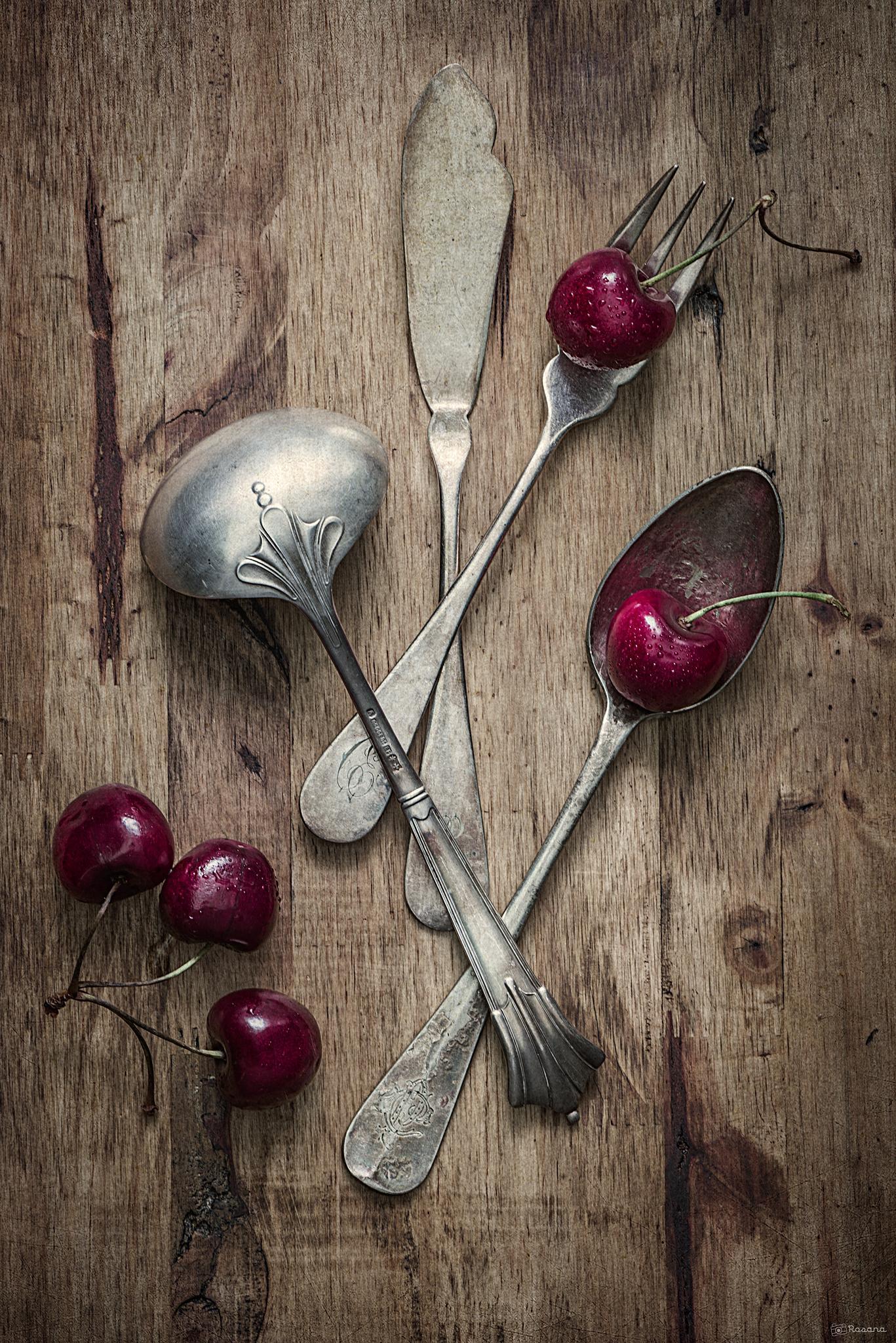 Cherries by Rosana