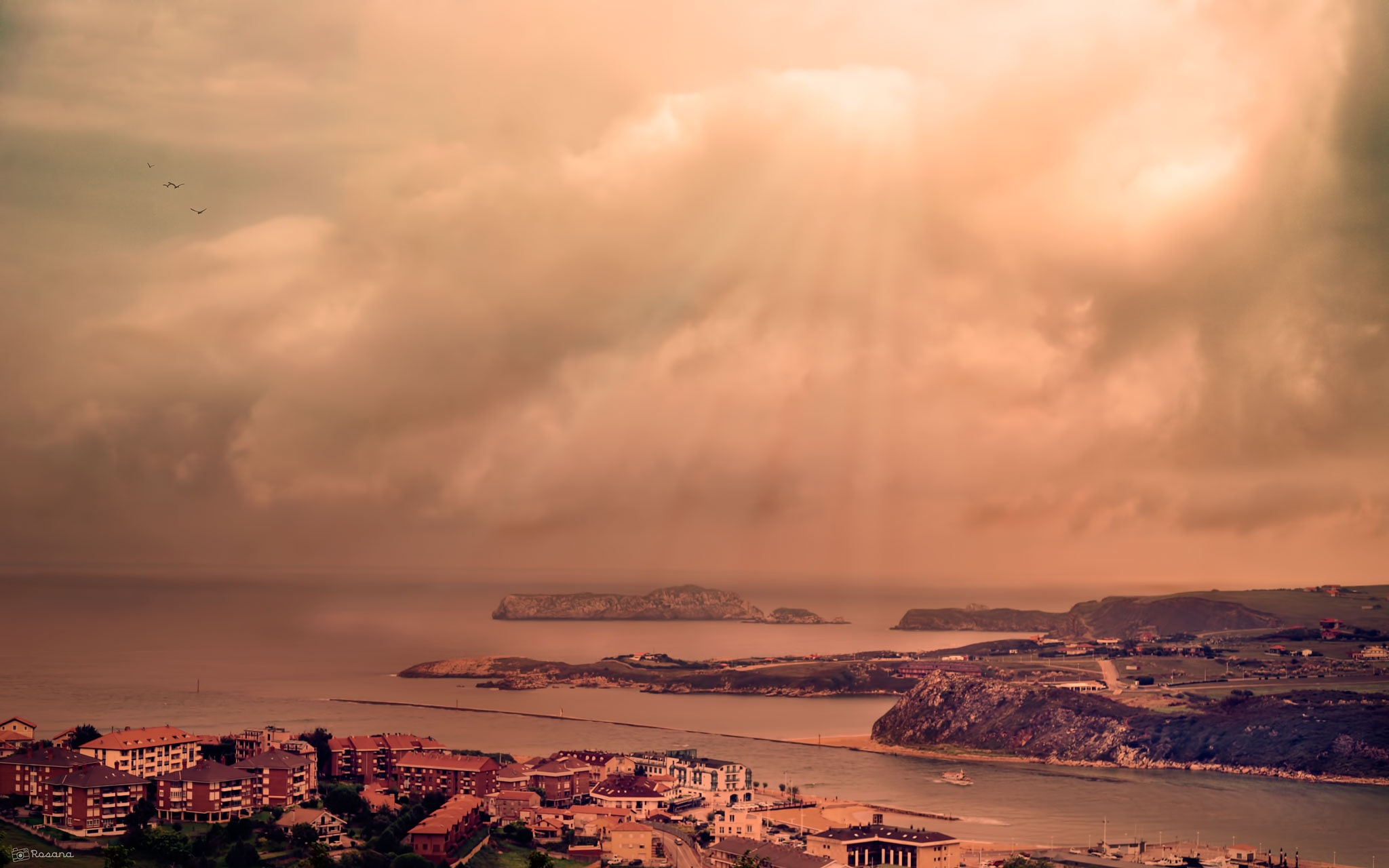 After the storm by Rosana