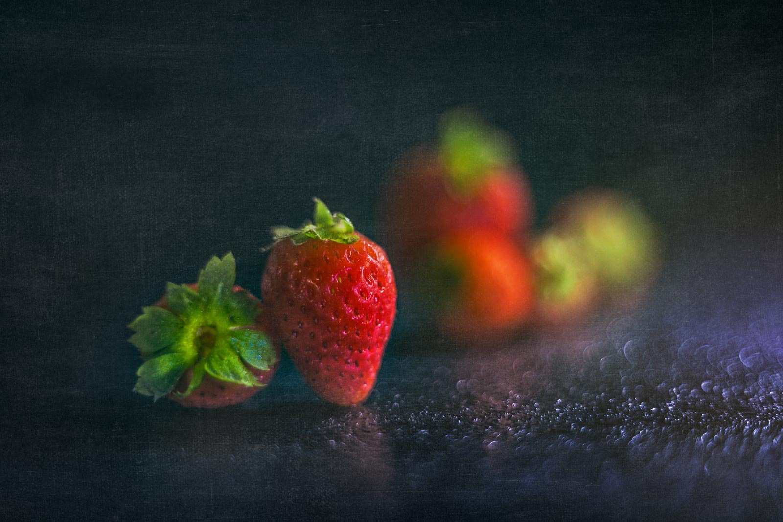 Strawberries by Rosana