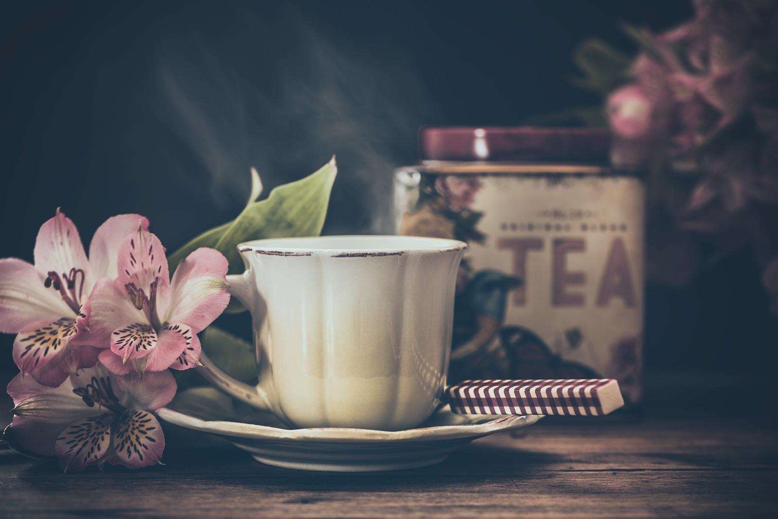 Tea time by Rosana