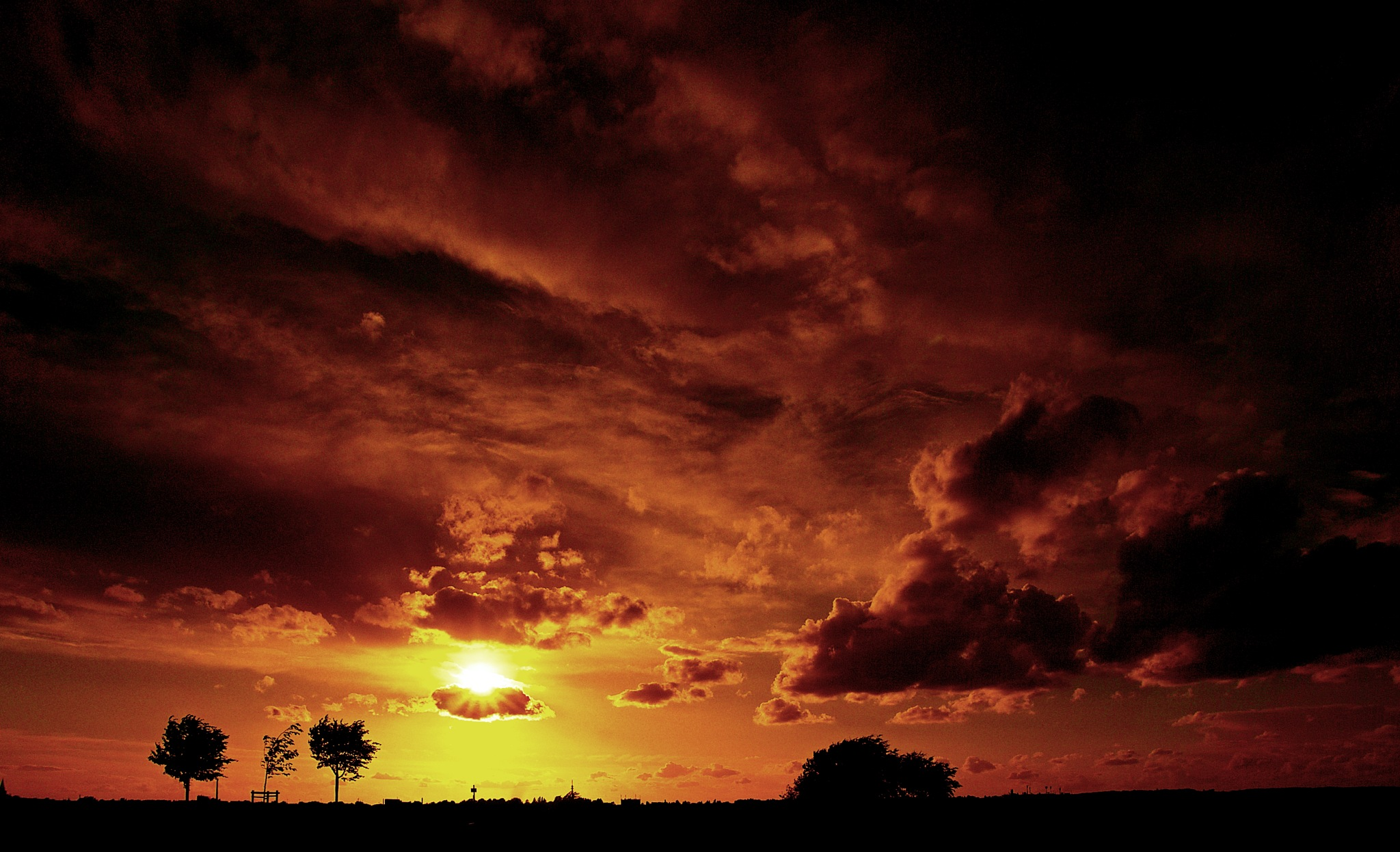 Sunset by TOBE-Photography