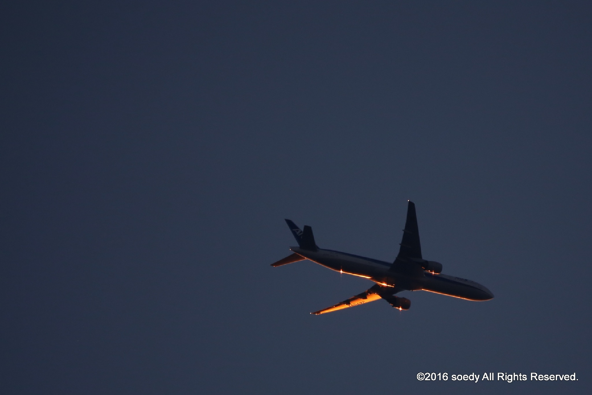 Sunset (All Nippon Airways) by soedy✞