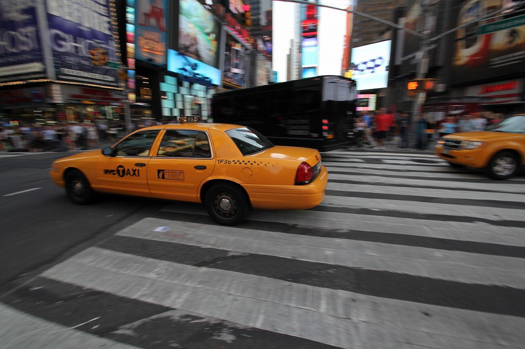 NYC Yellow Cab by soedy✞