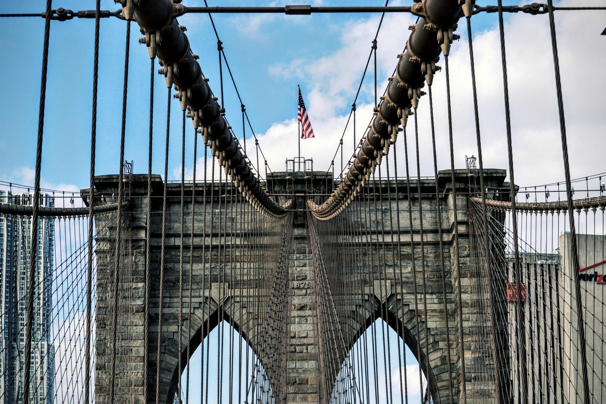 Brooklyn Bridge by Abu E Mansoor