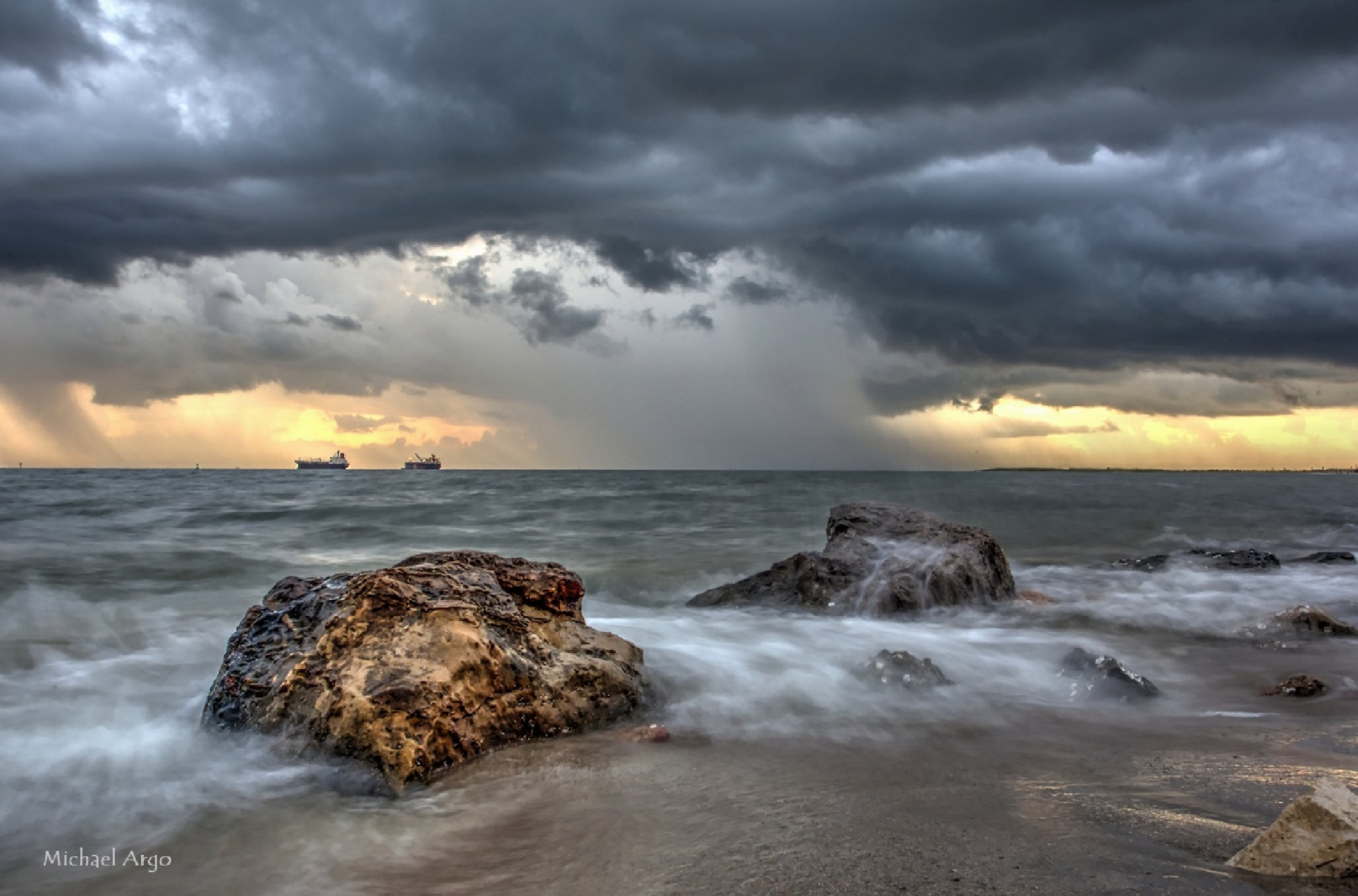 Stormy Morning by Michael Argo