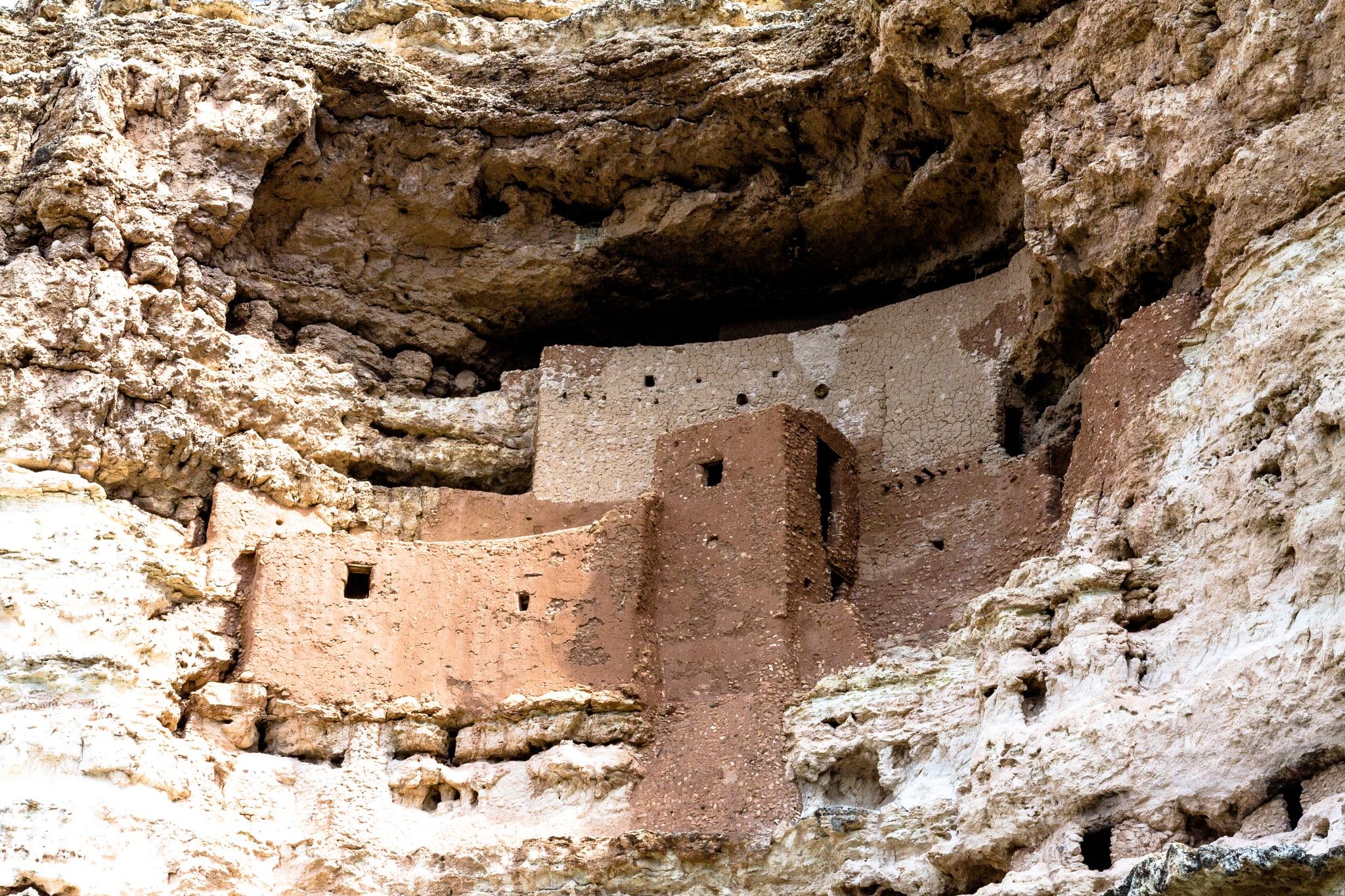 Montezuma's Castle by Ben Zion