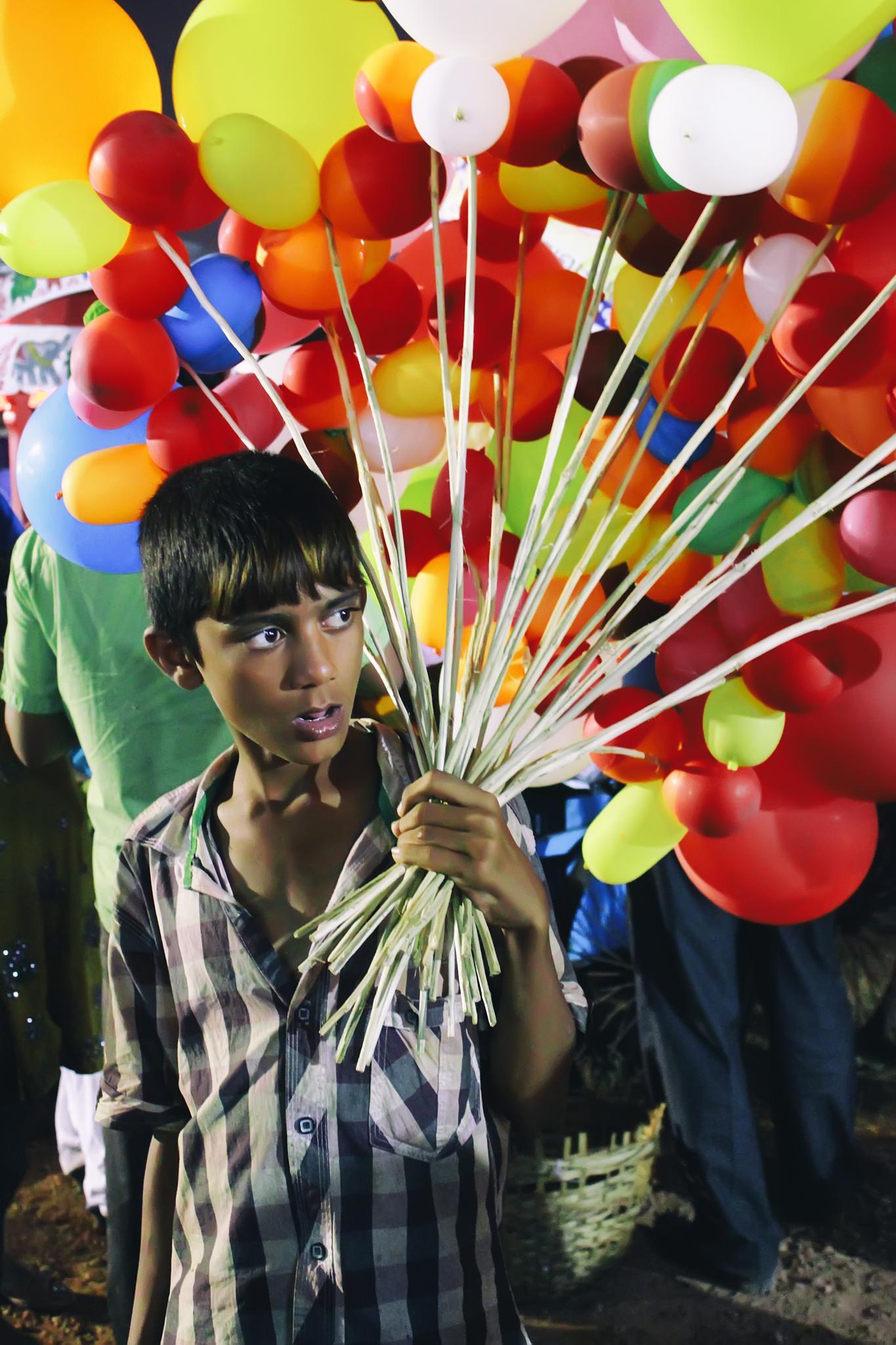 The Baloon Boy by Basudev Majhi