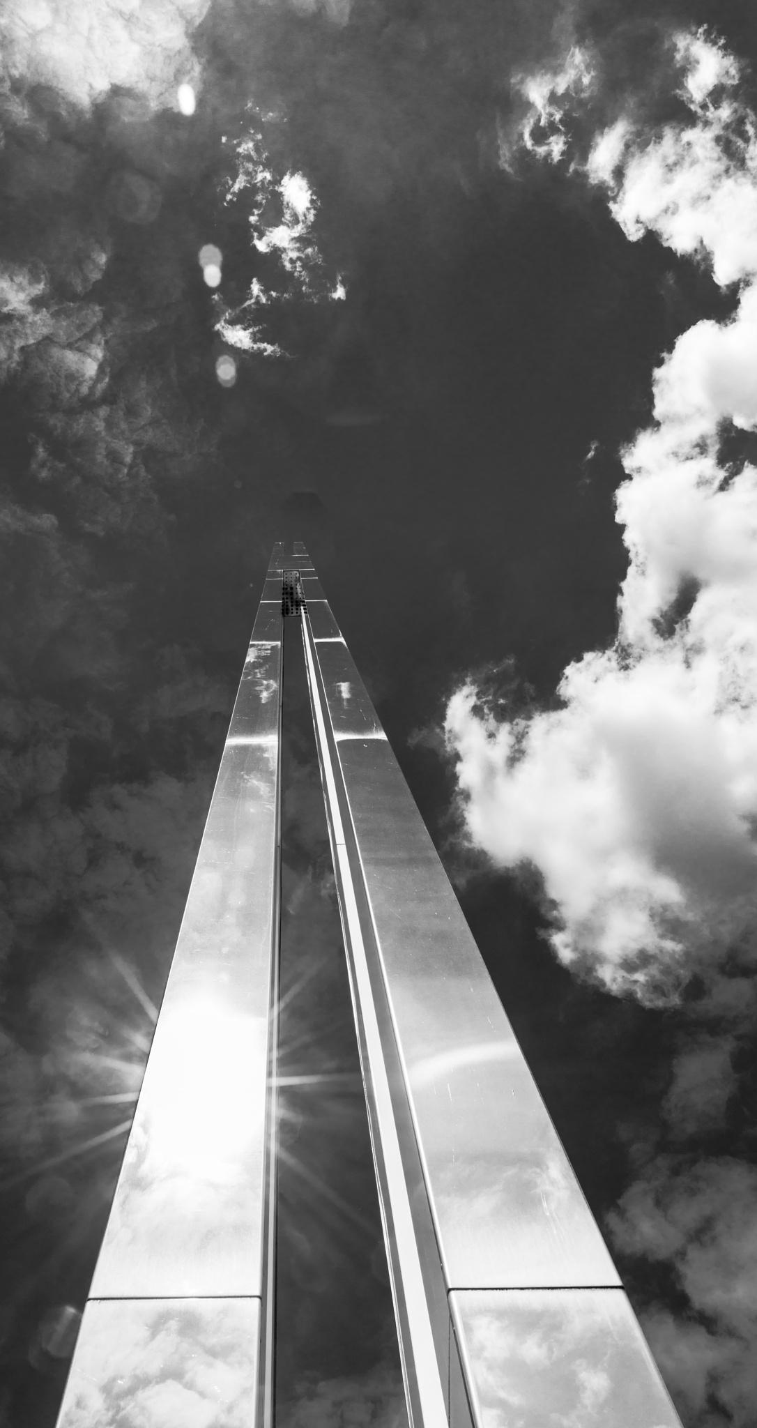 knocking on heaven's door by Dirk Mohr
