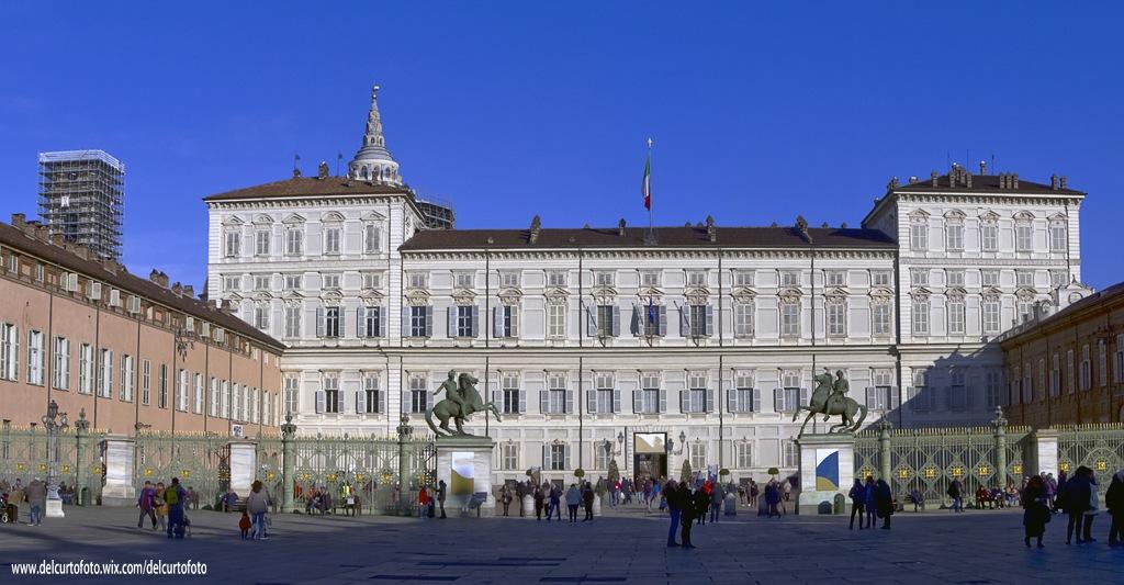 Turin Royal Palace Italy by Giovanni Del Curto