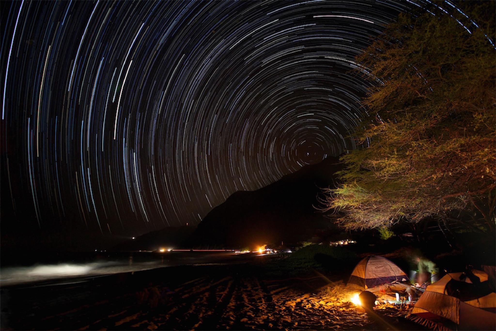 Birthday Star Trails by Jason Matias