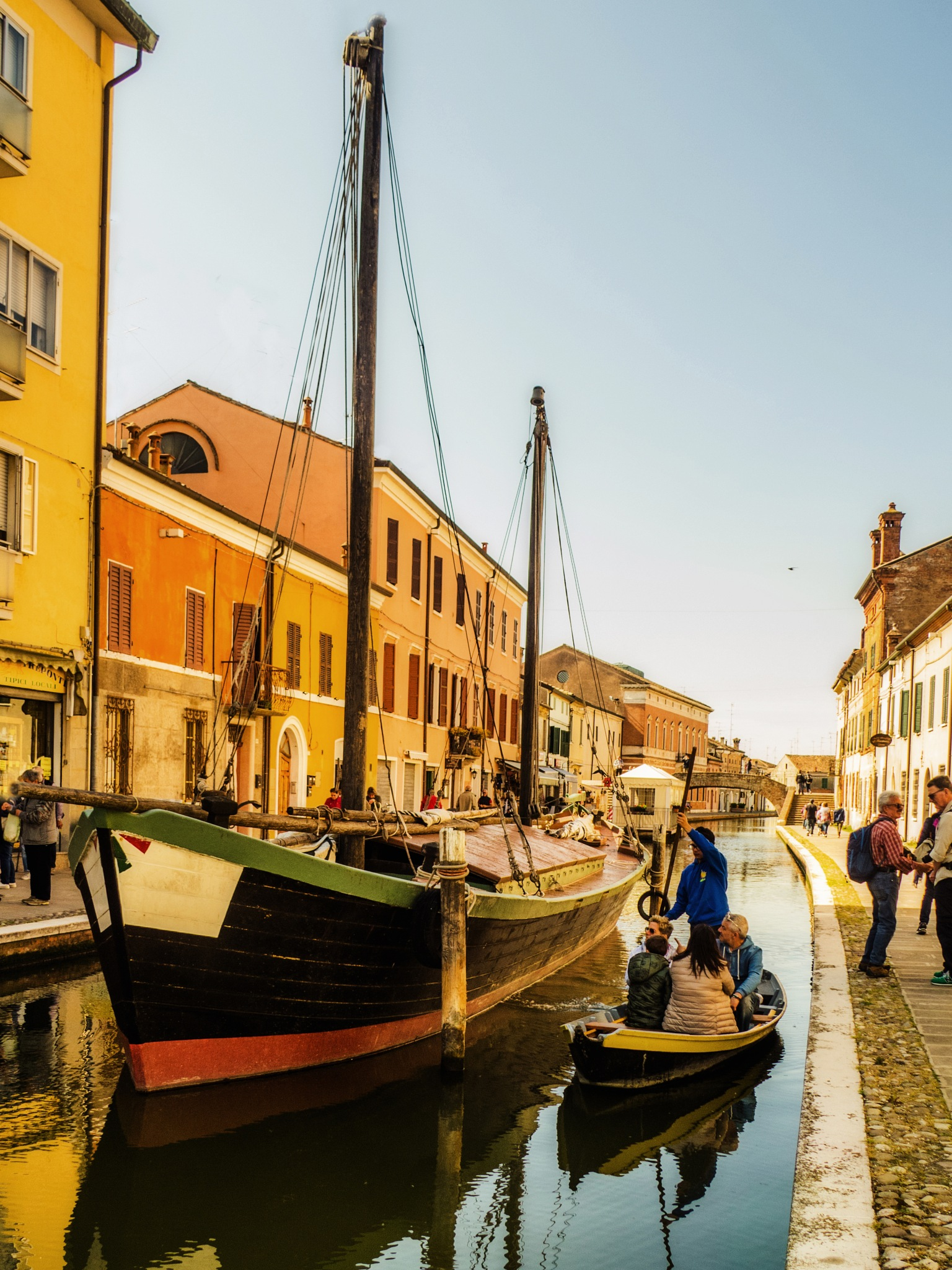 Comacchio tourist tour by sunrisesunset