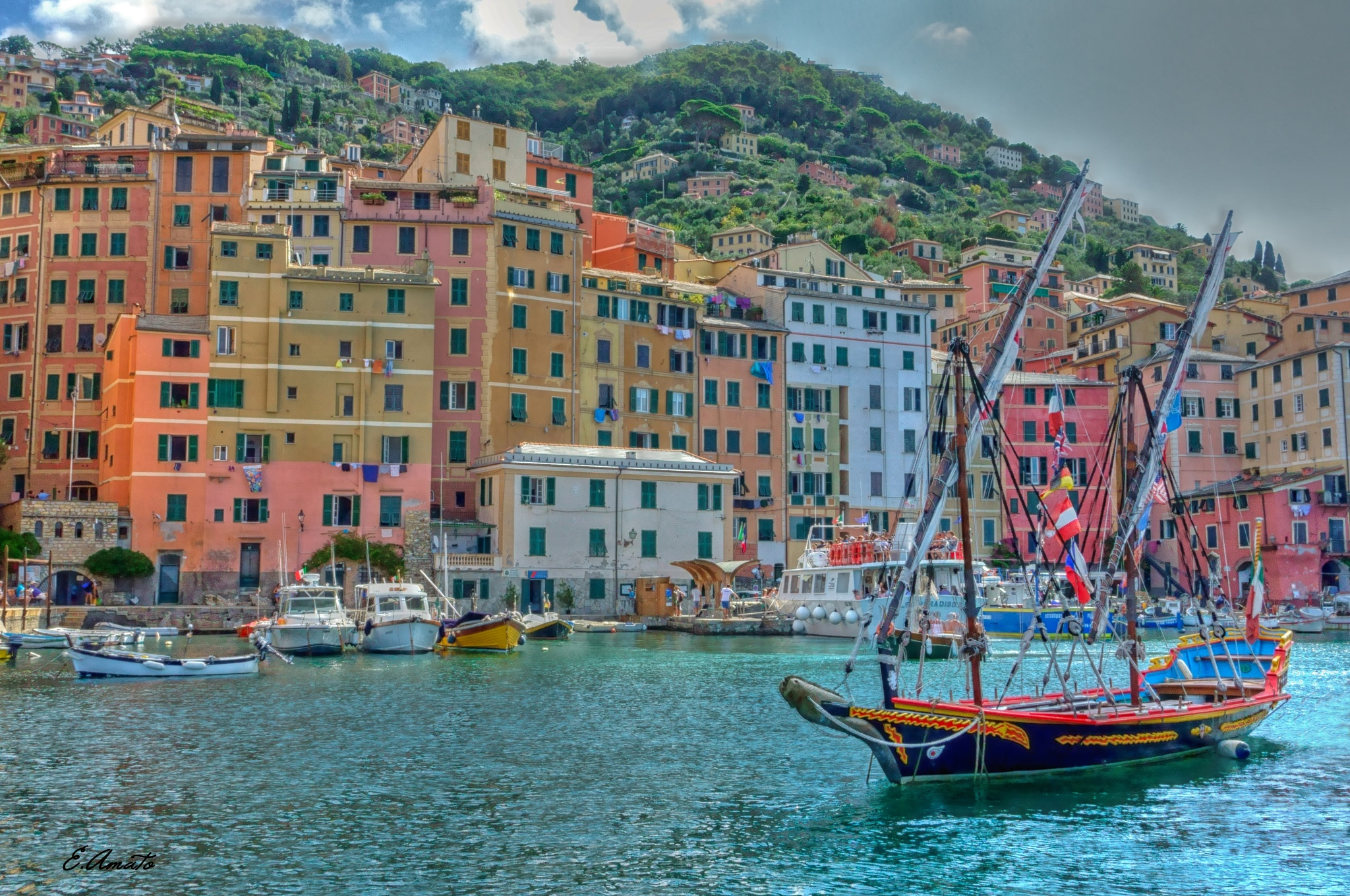Camogli colours by sunrisesunset