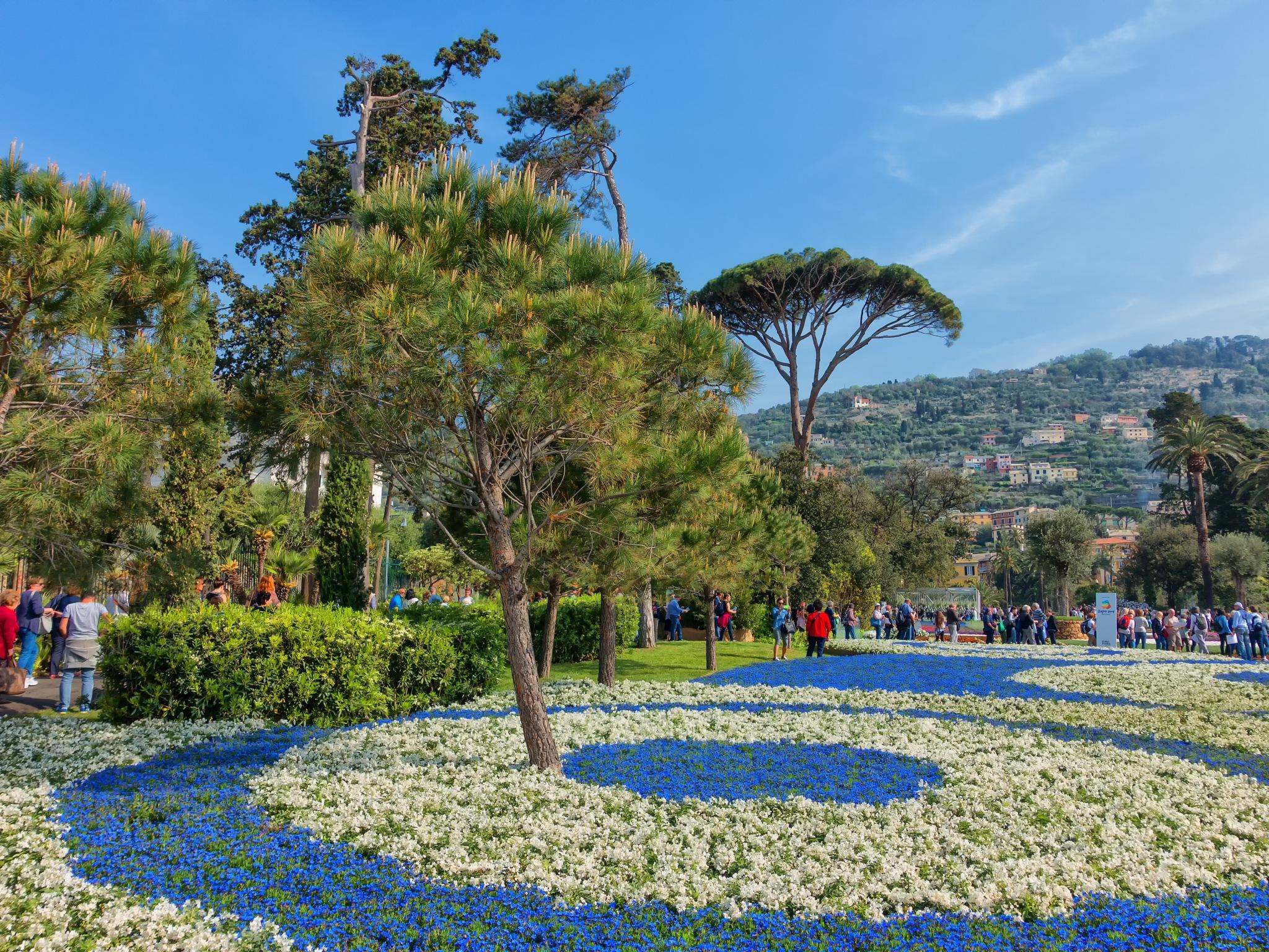 Euroflora Genoa Nervi park by ernesto amato