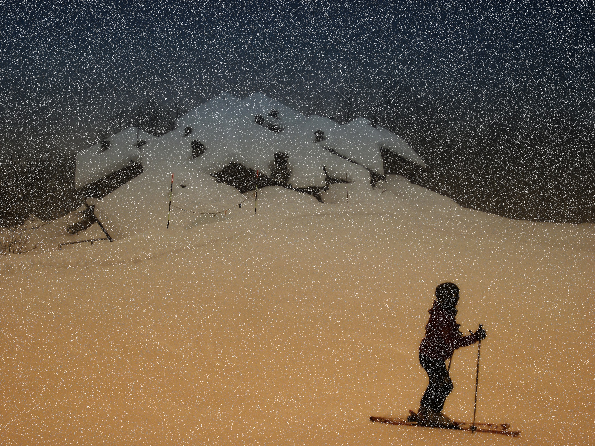 snowfalls by ernesto amato