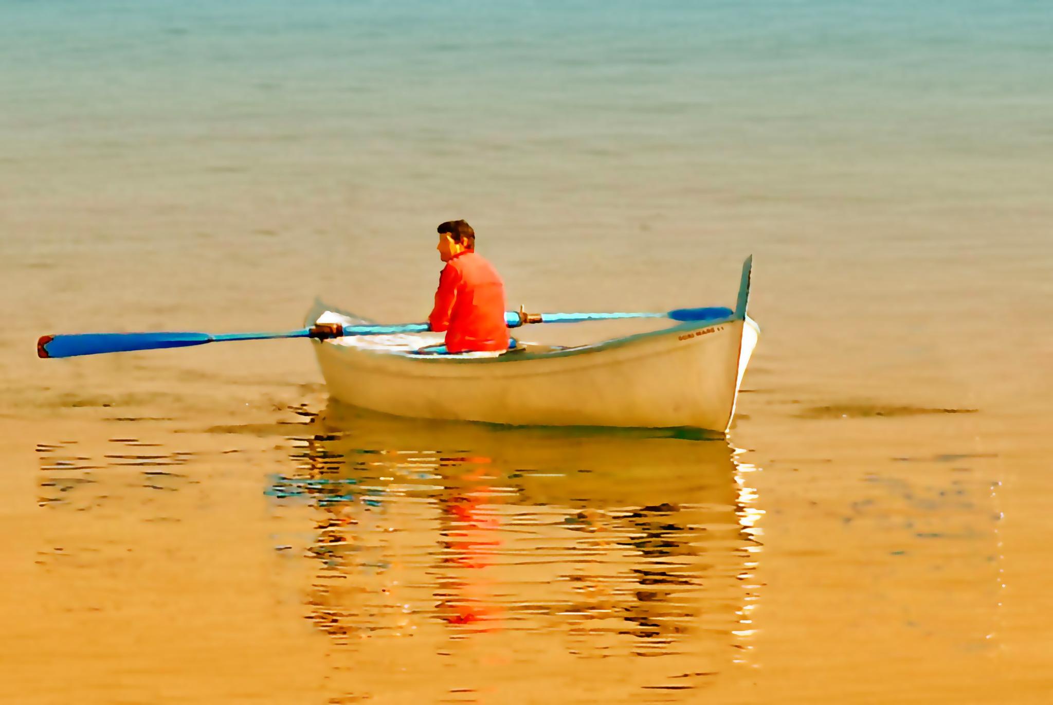 calm sea by sunrisesunset