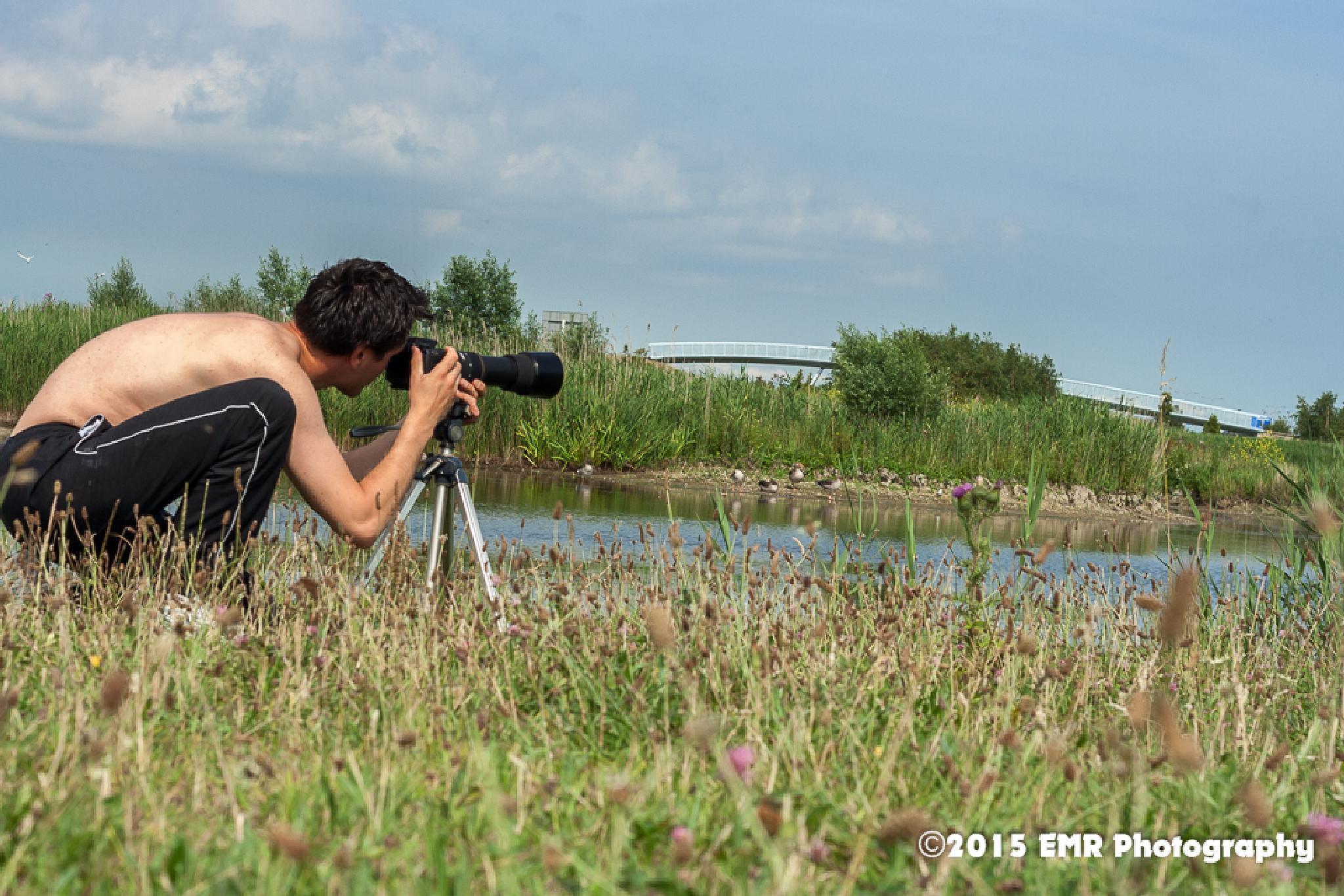 Me testing Sigma 135-400mm 1:4.5-5.6 apo dg by EMR Photography & Fotomodel Marijn