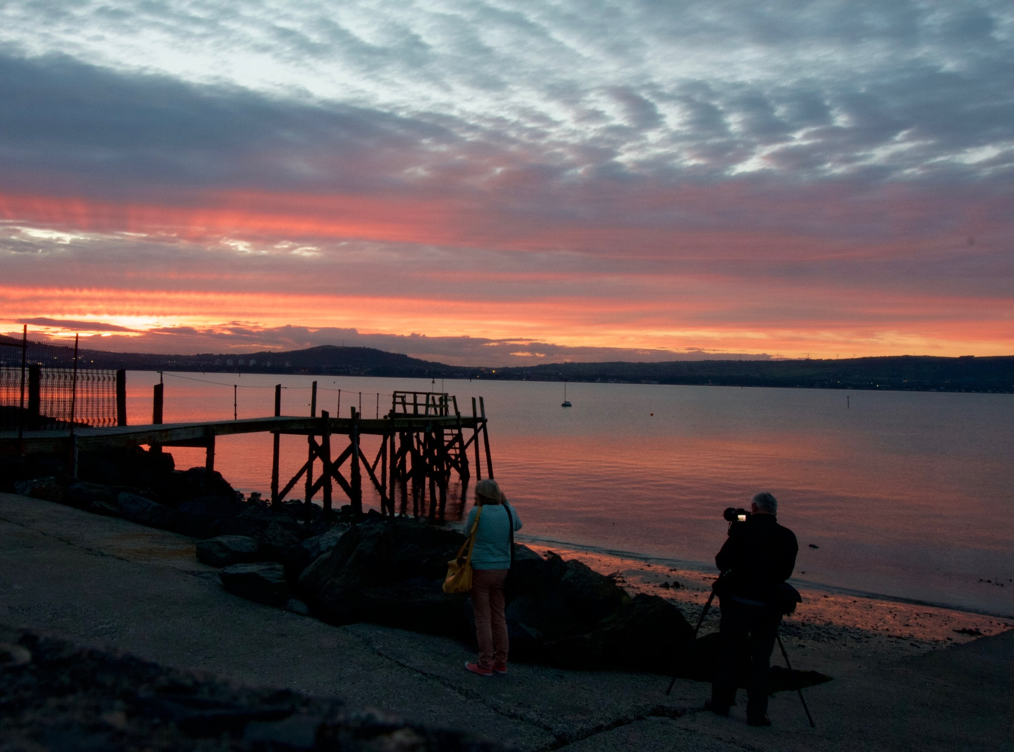 sunset at Holywood, Co Down by dbards